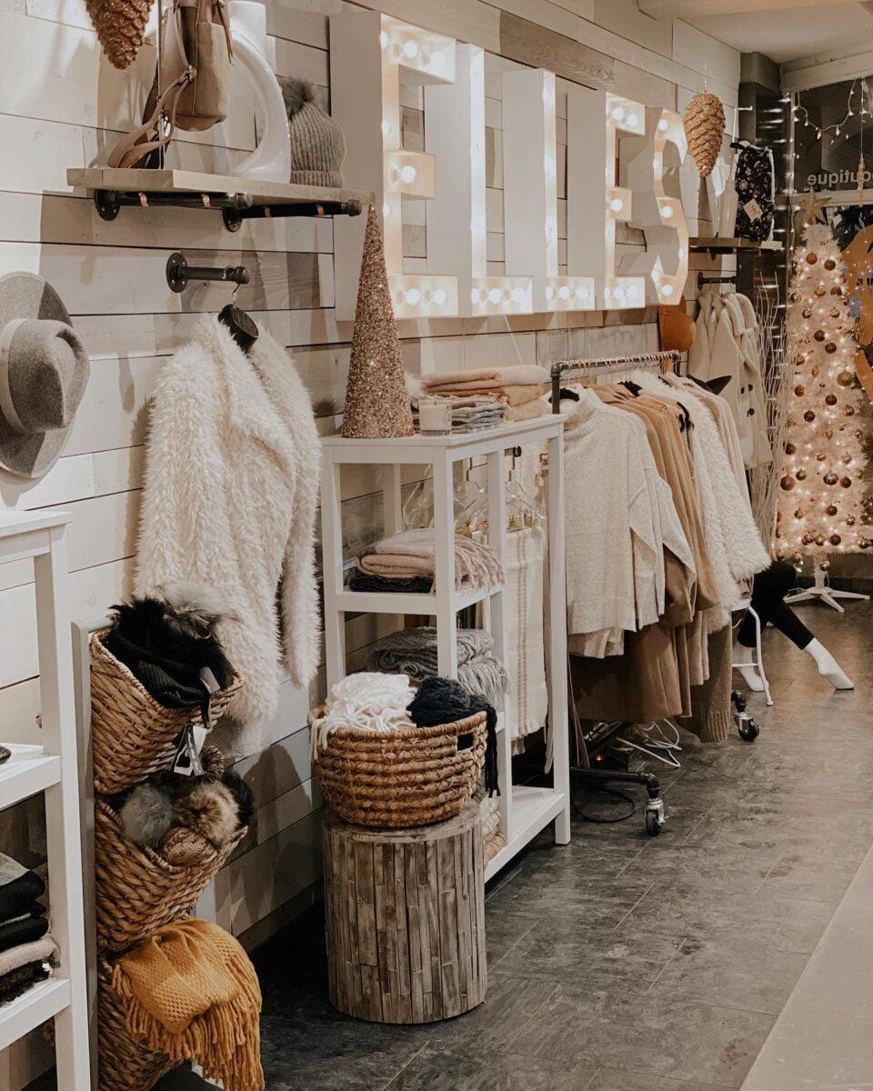 Interior of Elle's Closet. Photo: Elle's Closet Facebook