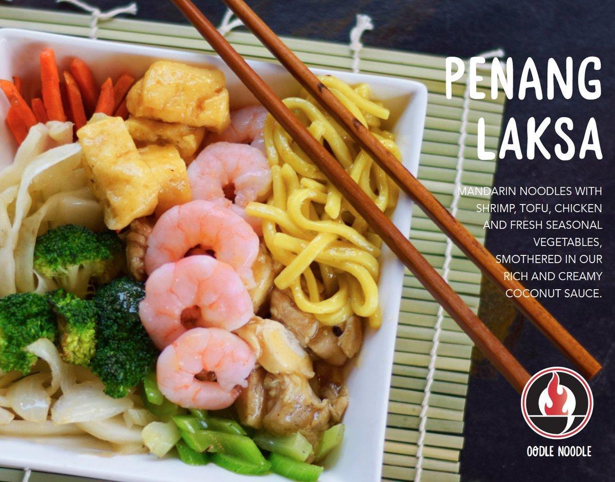 Photo of popular Oodle Noodle dish 'Penang Laksa'. Photo: Oodle Noodle