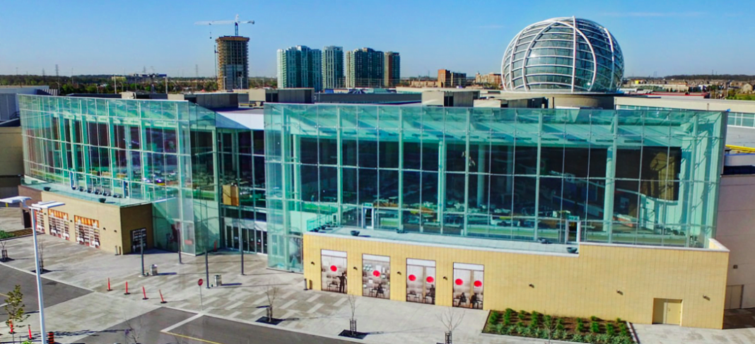 Exterior of Erin Mills Town Centre in Mississauga. Photo: Cushman Wakefield
