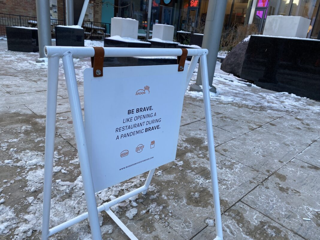 Sign spotted by Retail Insider in Toronto. Photo: Dustin Fuhs
