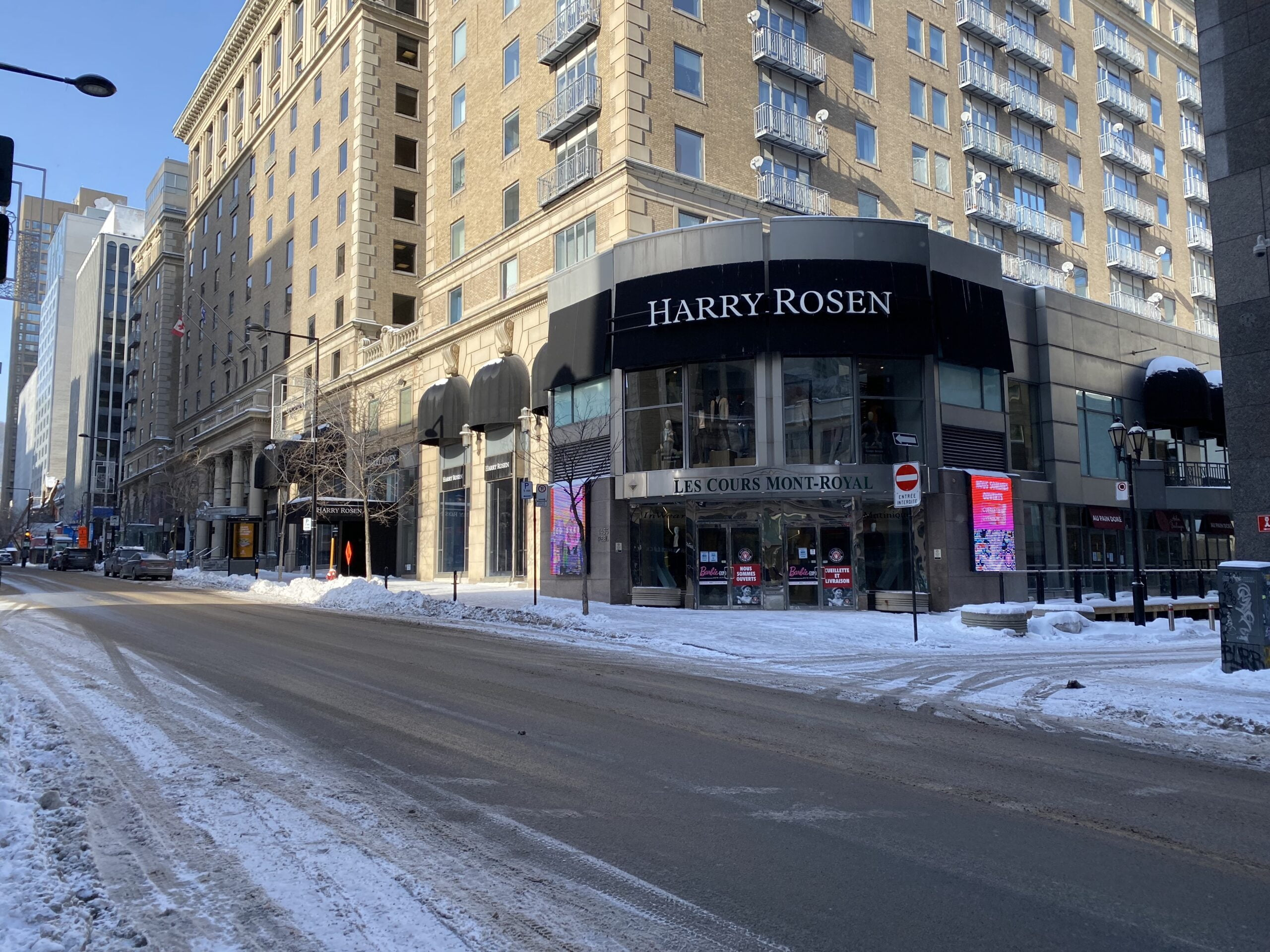 Harry Rosen (1455 Peel St, Montreal, Quebec)
