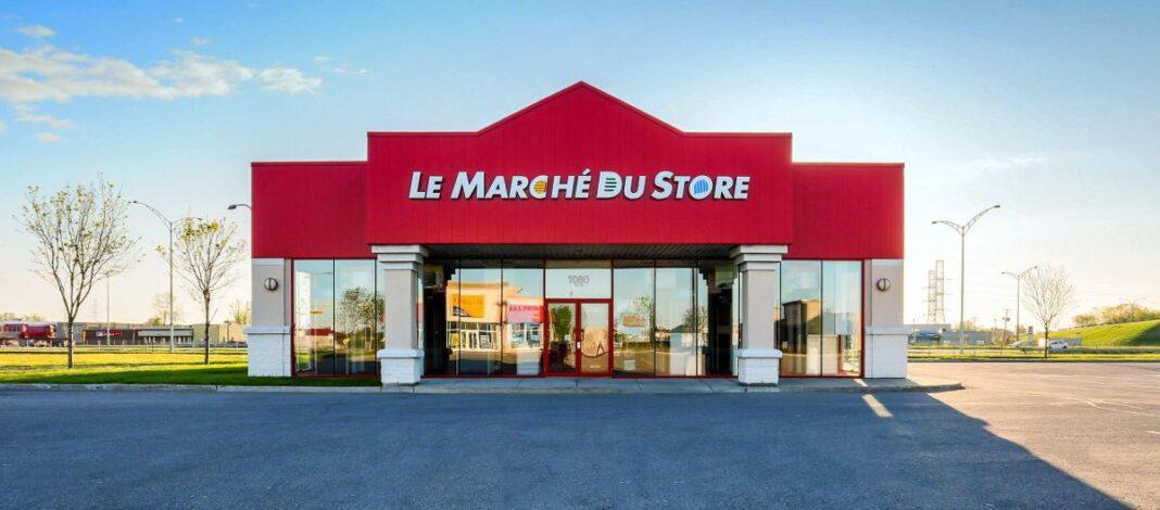 Exterior of Le Marché du Store. Photo: Le Marché du Store