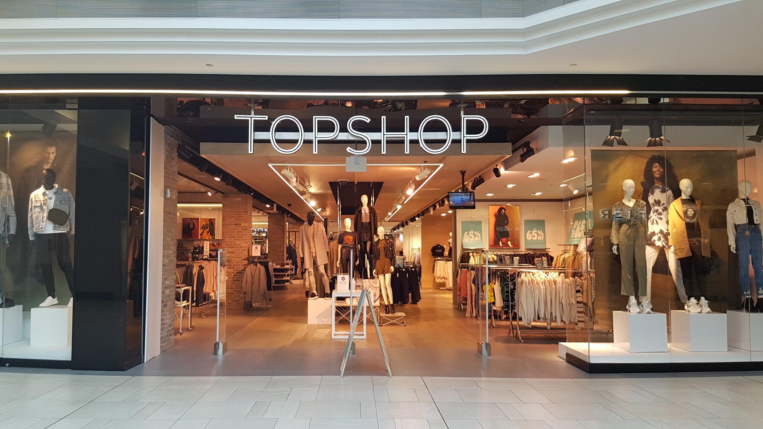 TopShop at CF Richmond Centre