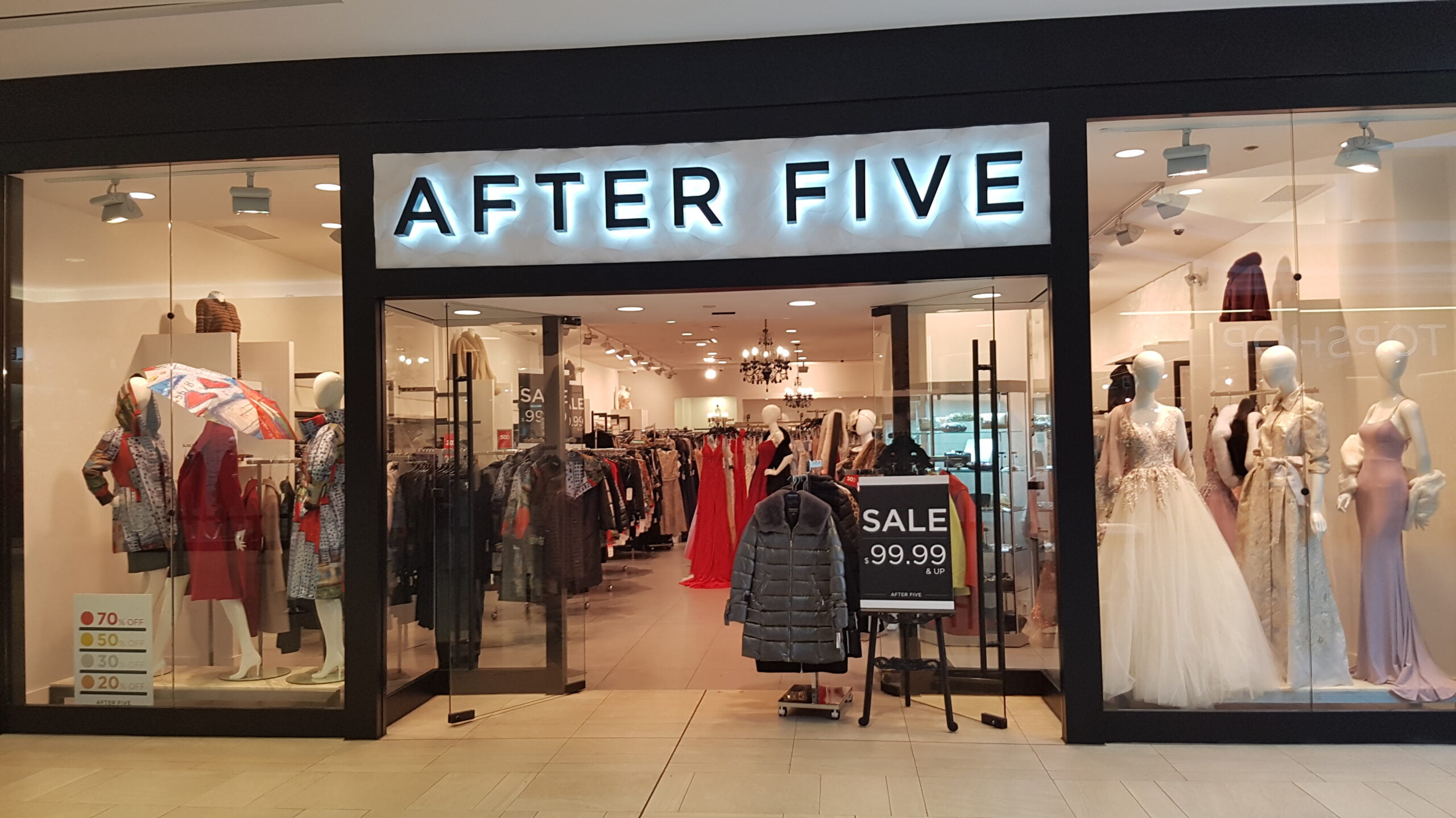 After Five at CF Richmond Centre.