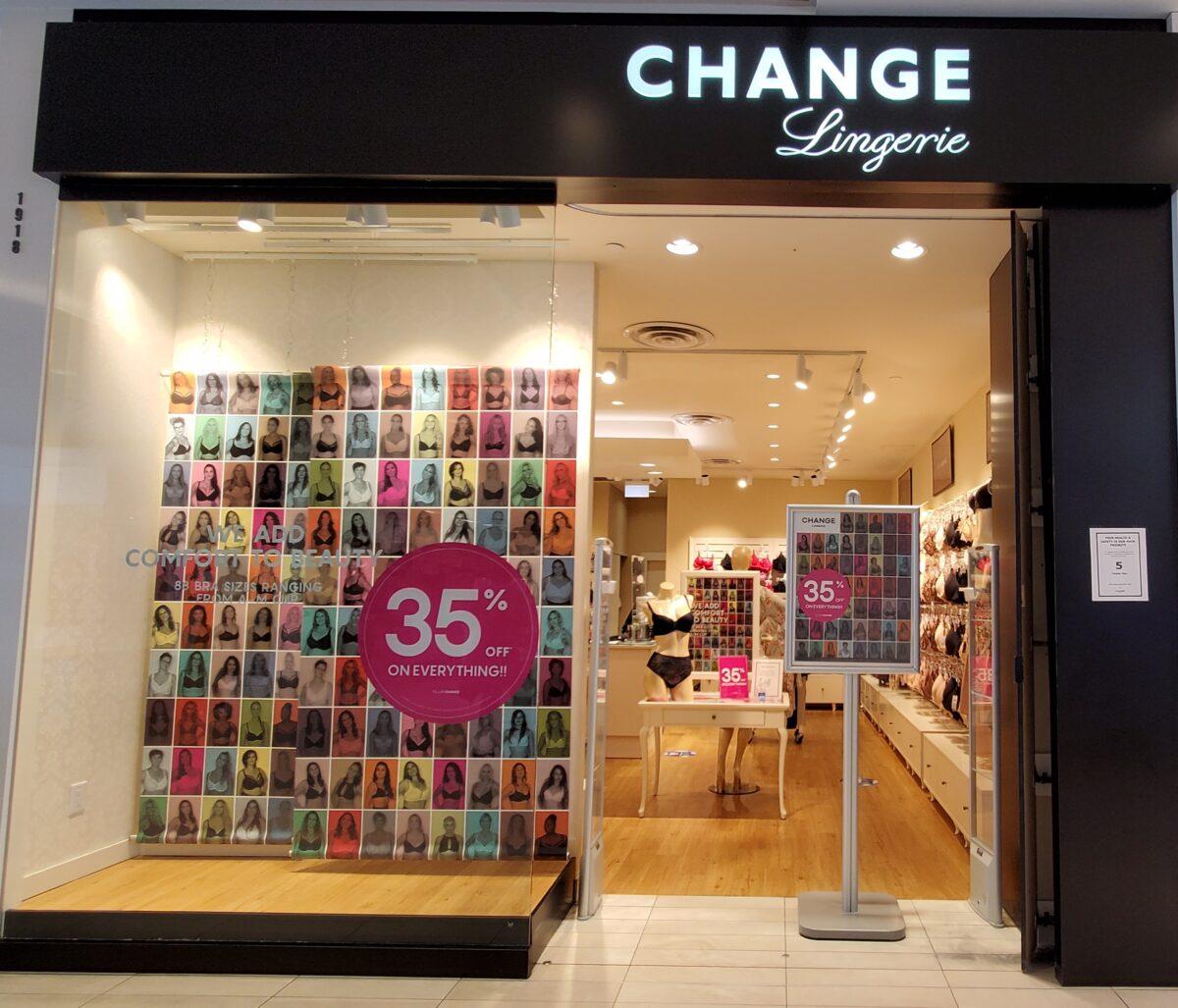Change Lingerie at CF Richmond Centre