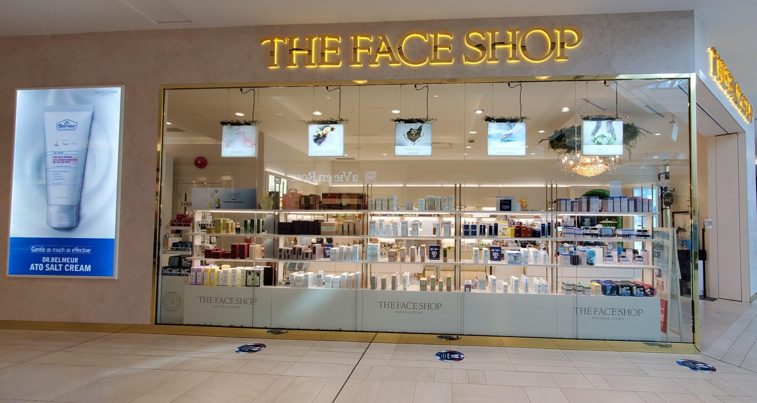 The Face Shop at CF Richmond Centre.
