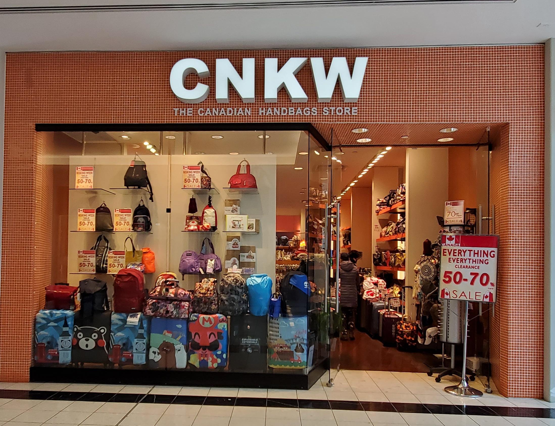 CNKW Handbags at CF Richmond Centre.