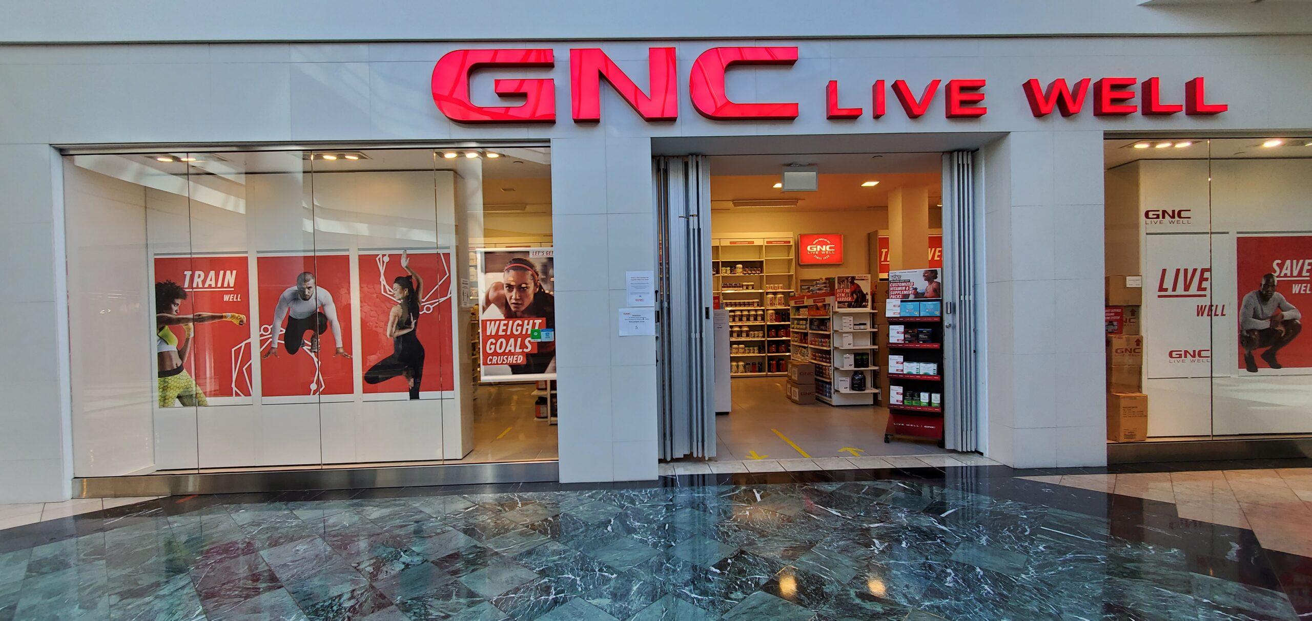 GNC at CF Richmond Centre.