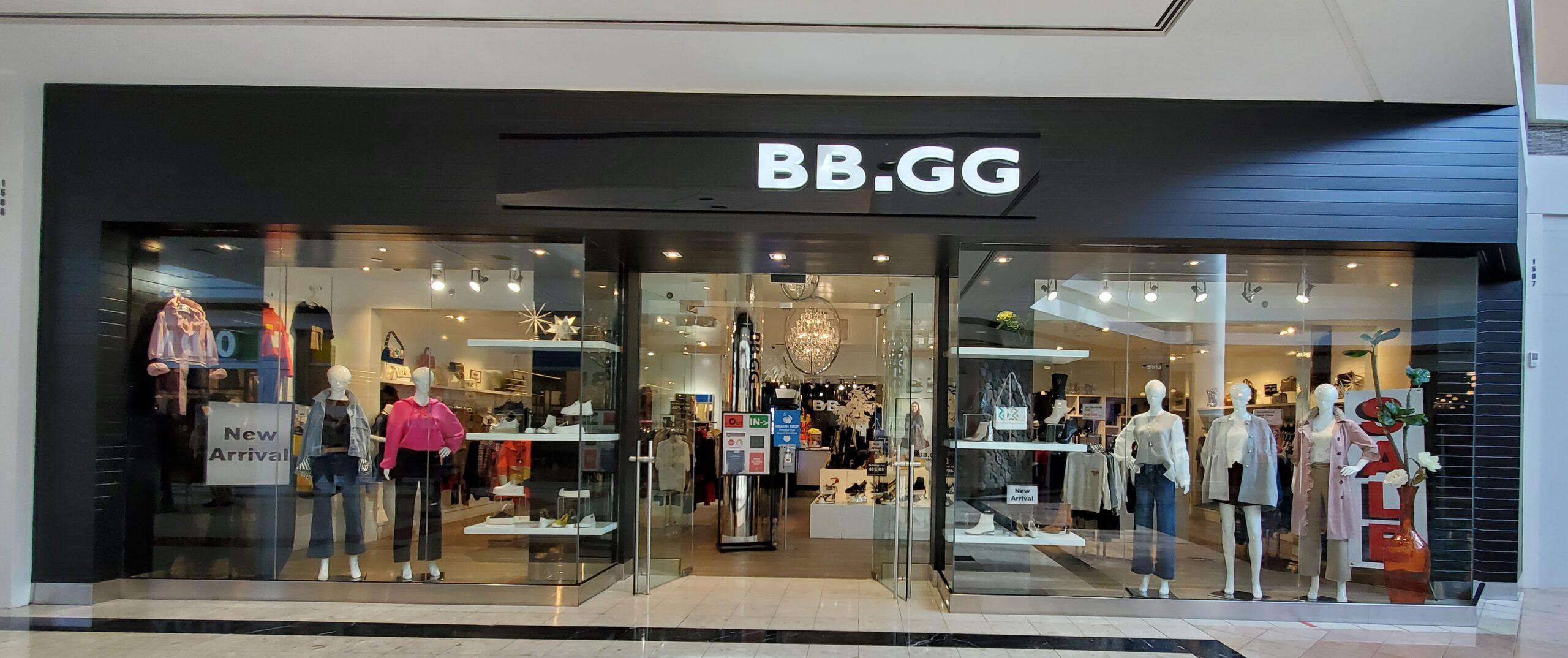 BB.GG Fashion at CF Richmond Centre.
