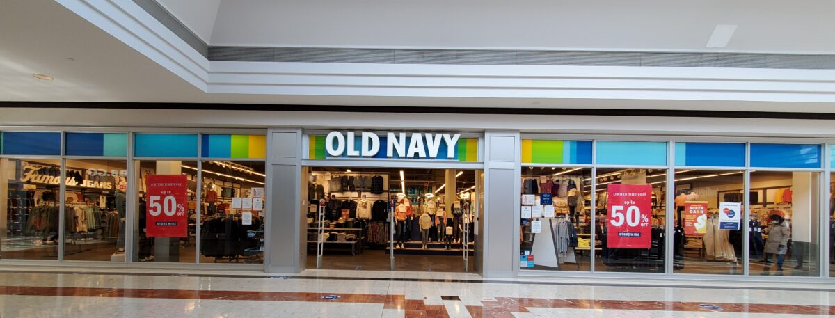 Old Navy at CF Richmond Centre.