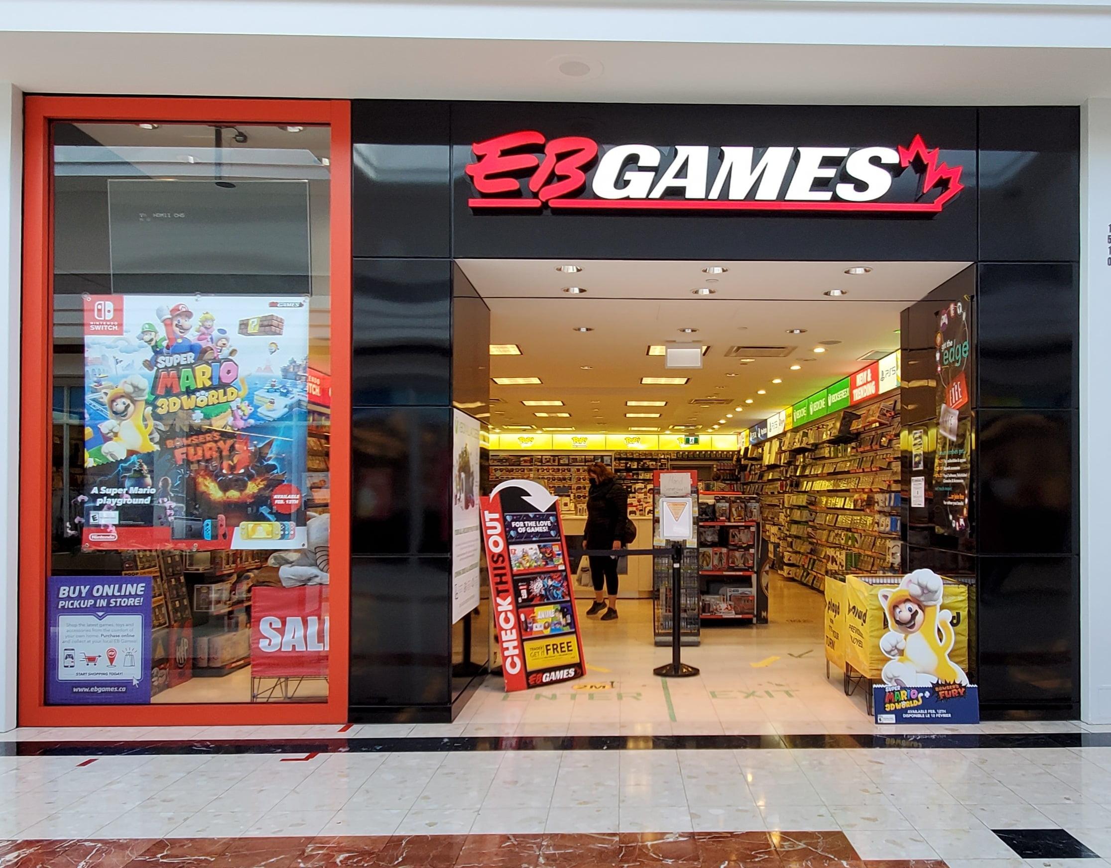 EB Games at CF Richmond Centre.