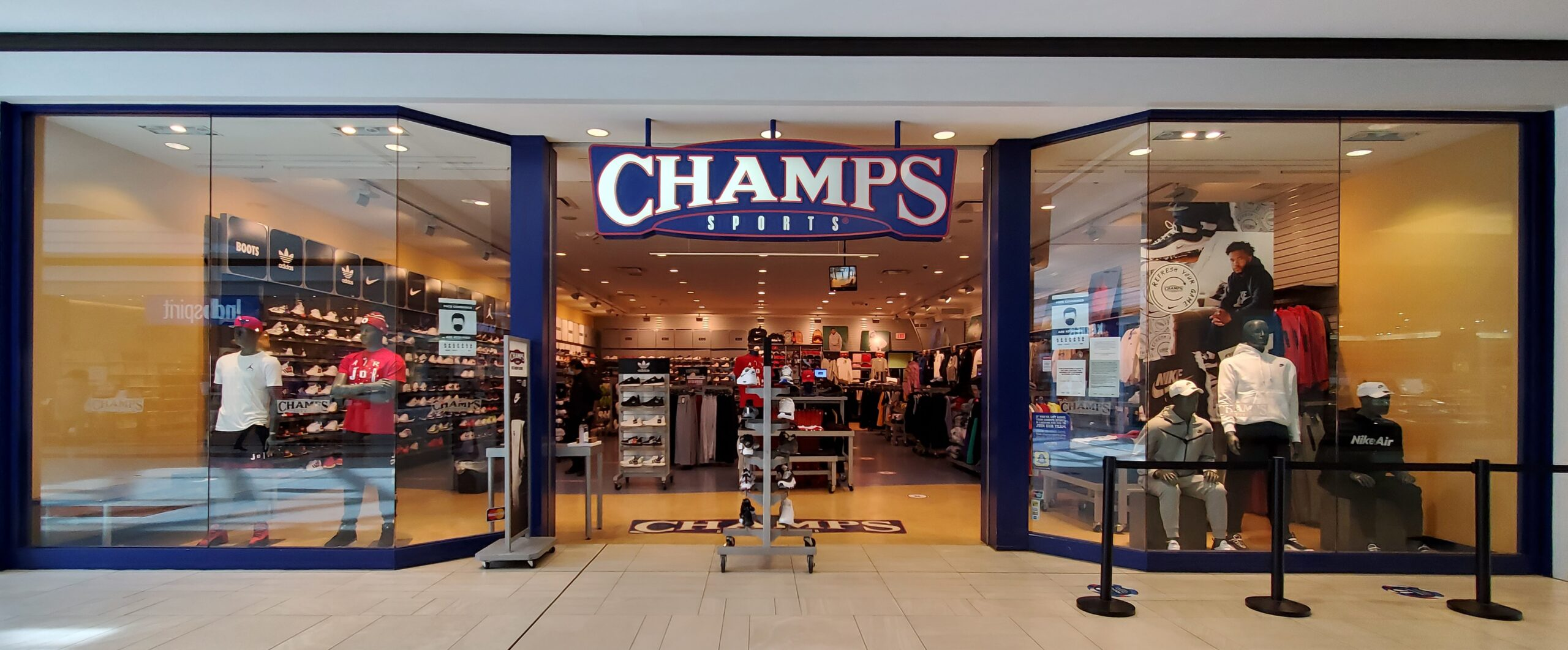 Champs Sports at CF Richmond Centre.