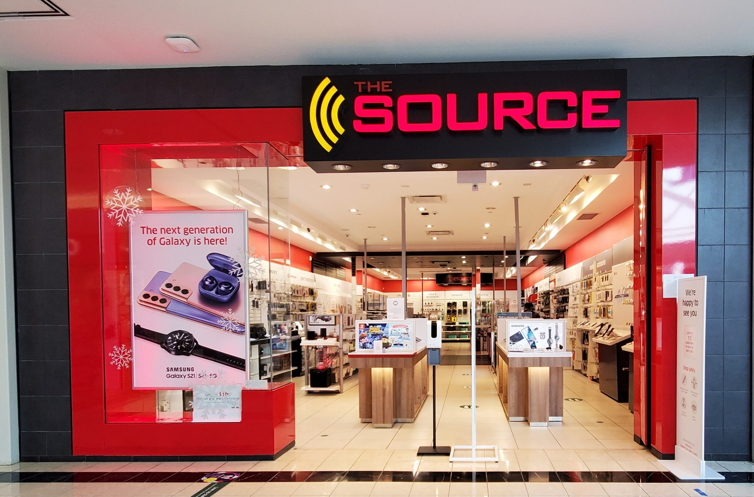 The Source at CF Richmond Centre.