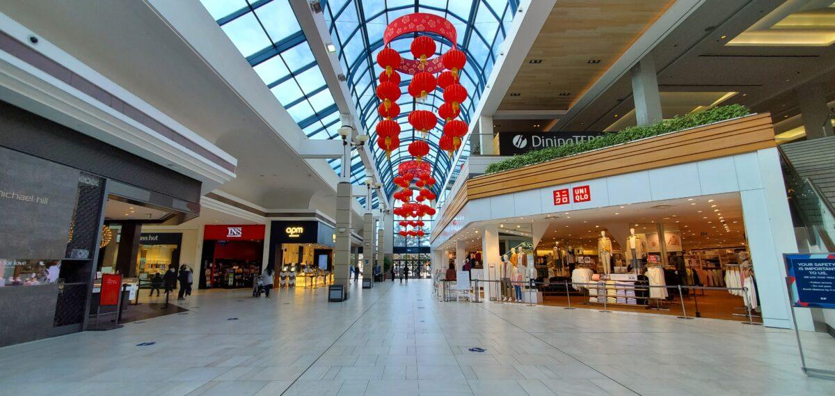 Uniqlo in Centre Galleria  at CF Richmond Centre.