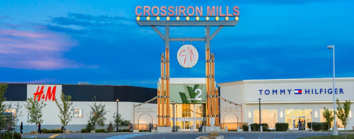 """Entrance 2 leading to the """"Ranch Neighbourhood"""" at CrossIron Mills"""