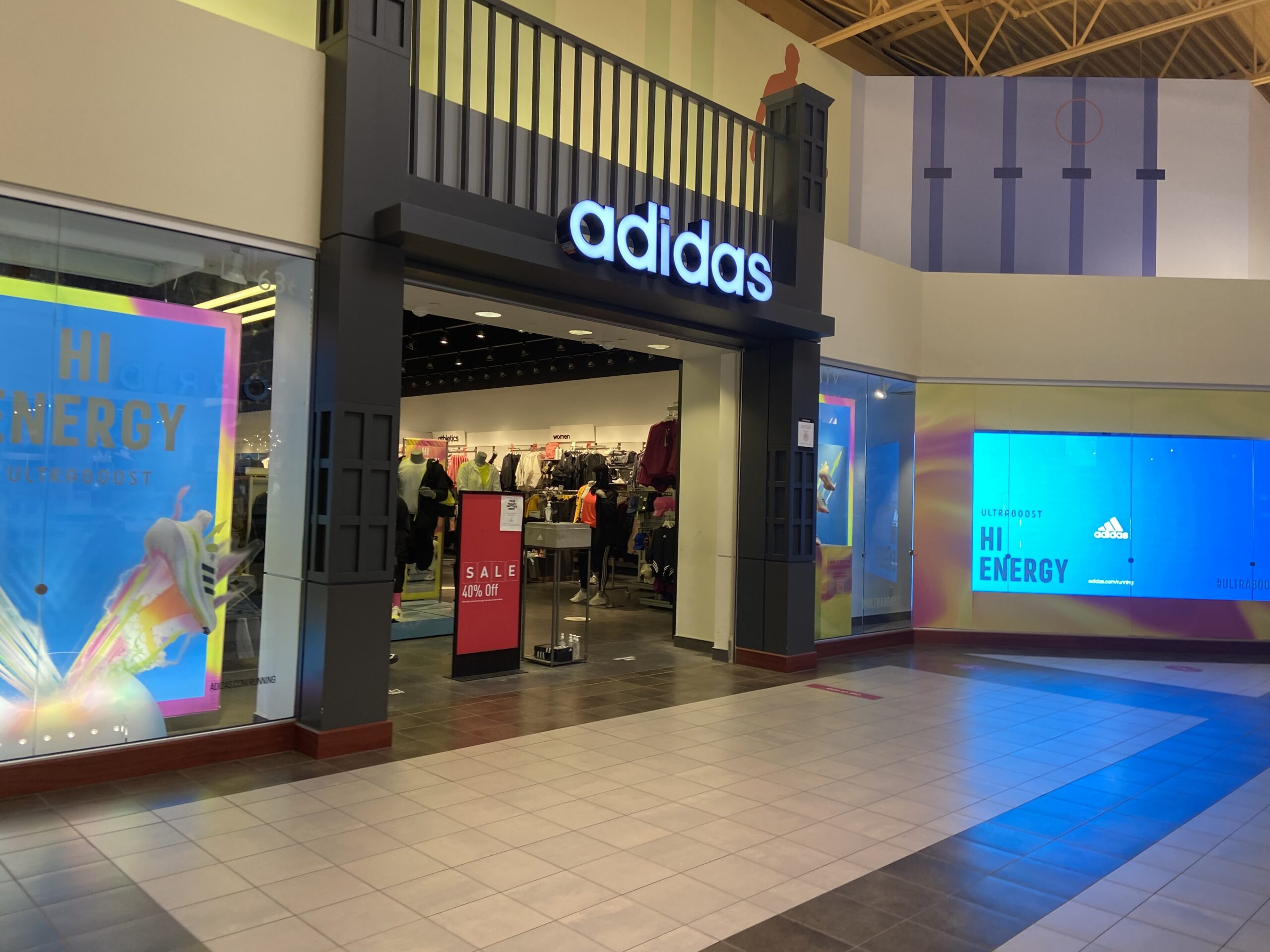 Adidas at CrossIron Mills