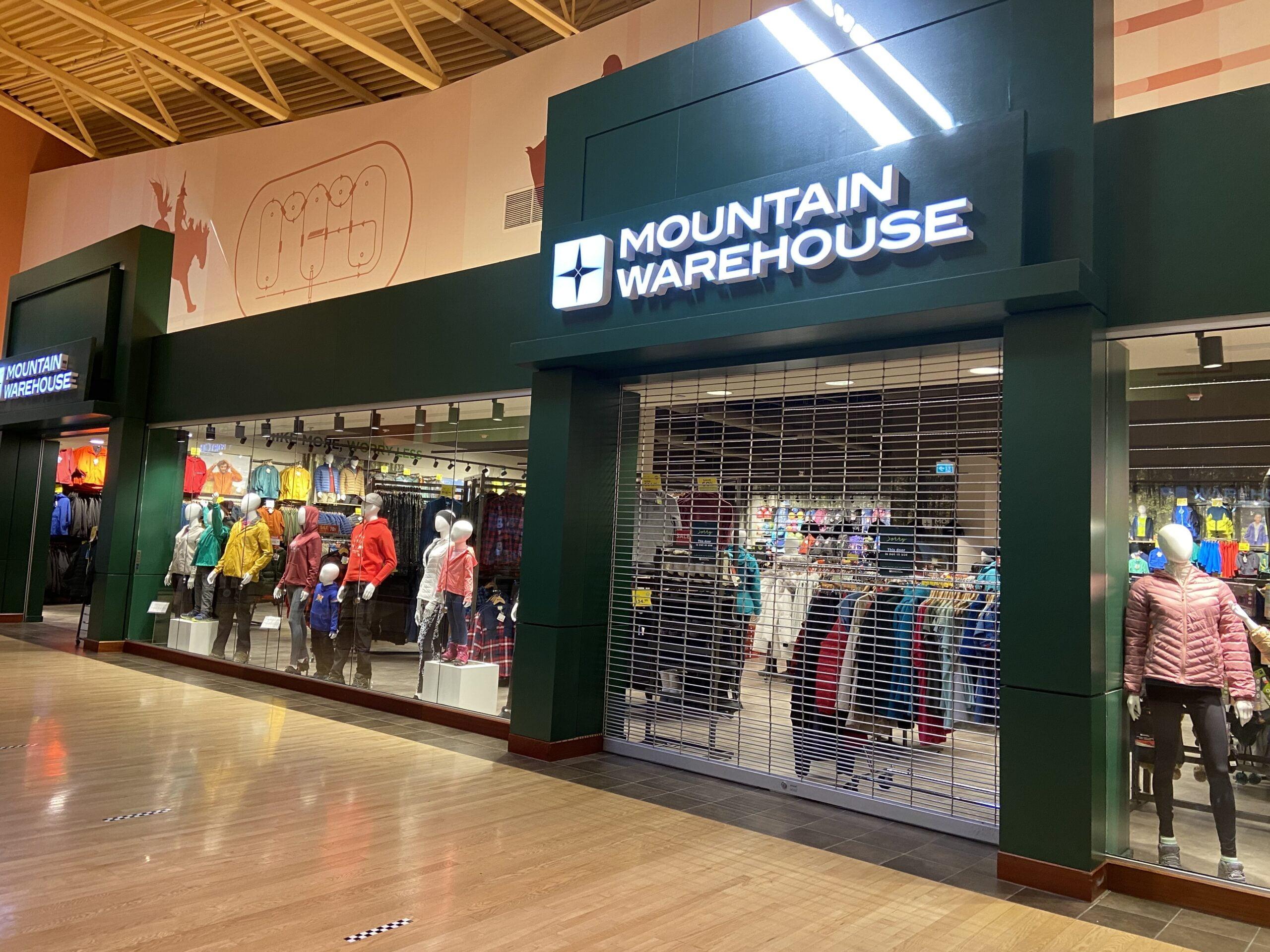 Mountain Warehouse at CrossIron Mills
