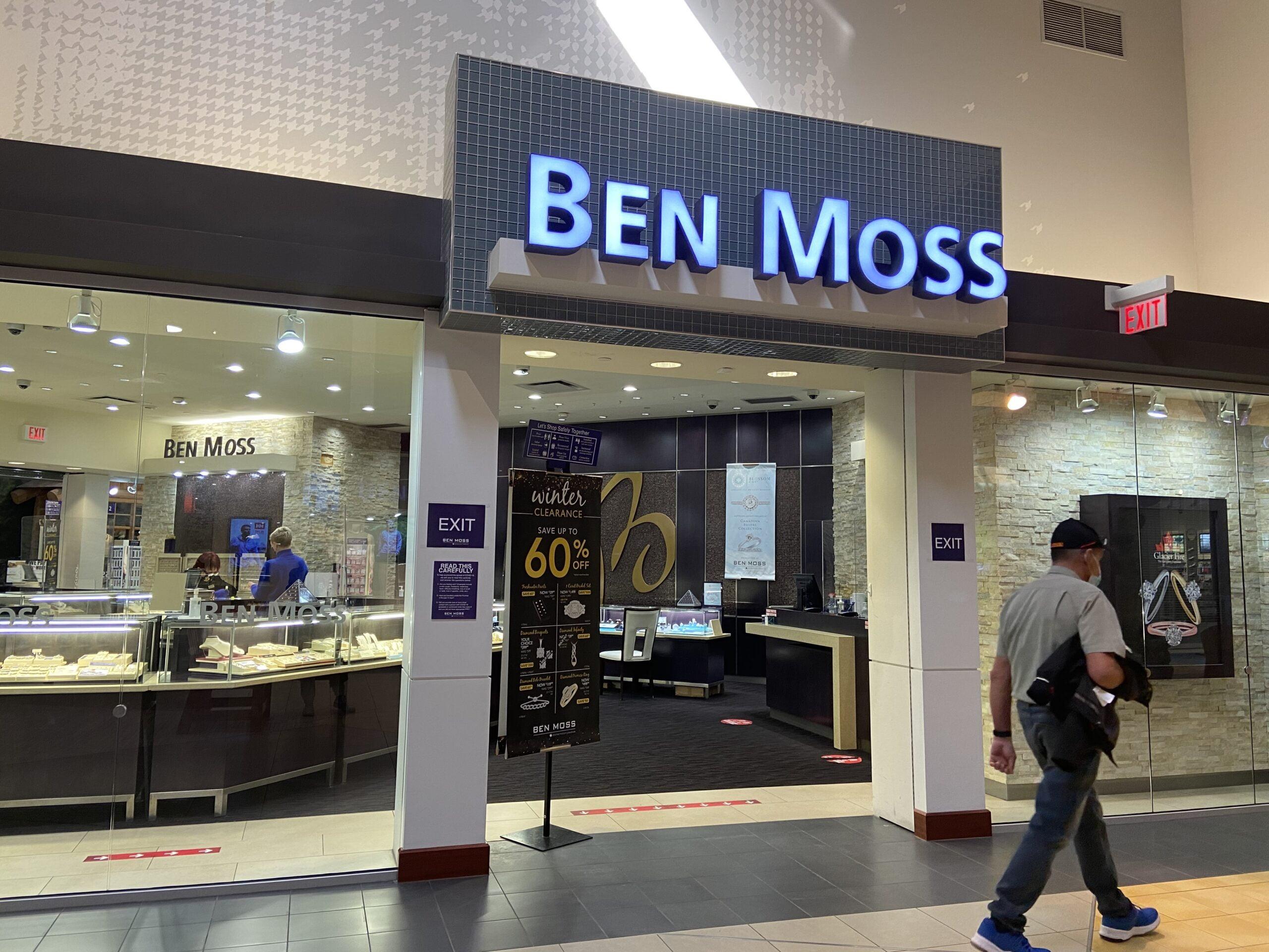 Ben Moss at CrossIron Mills