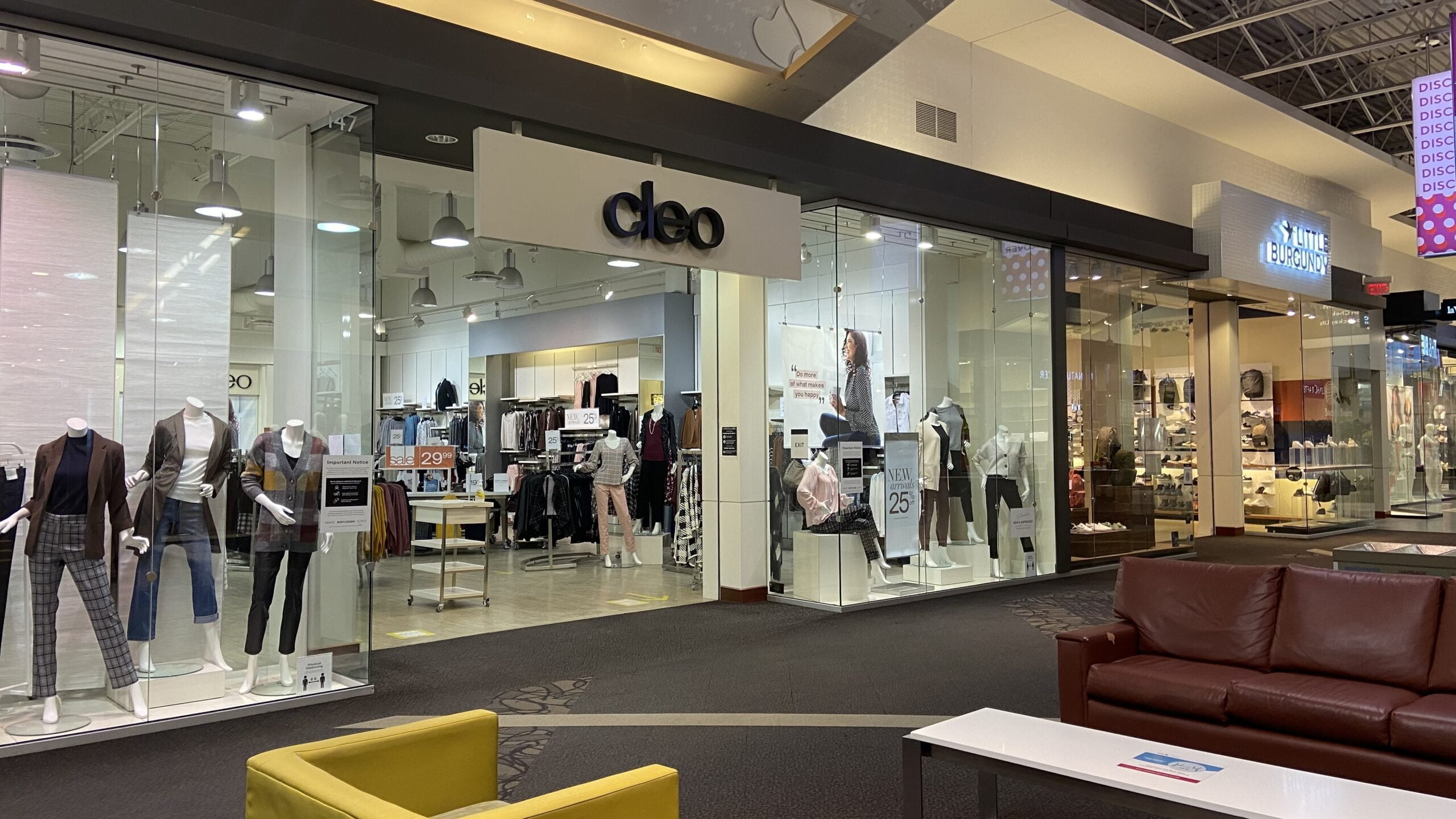 Cleo at CrossIron Mills