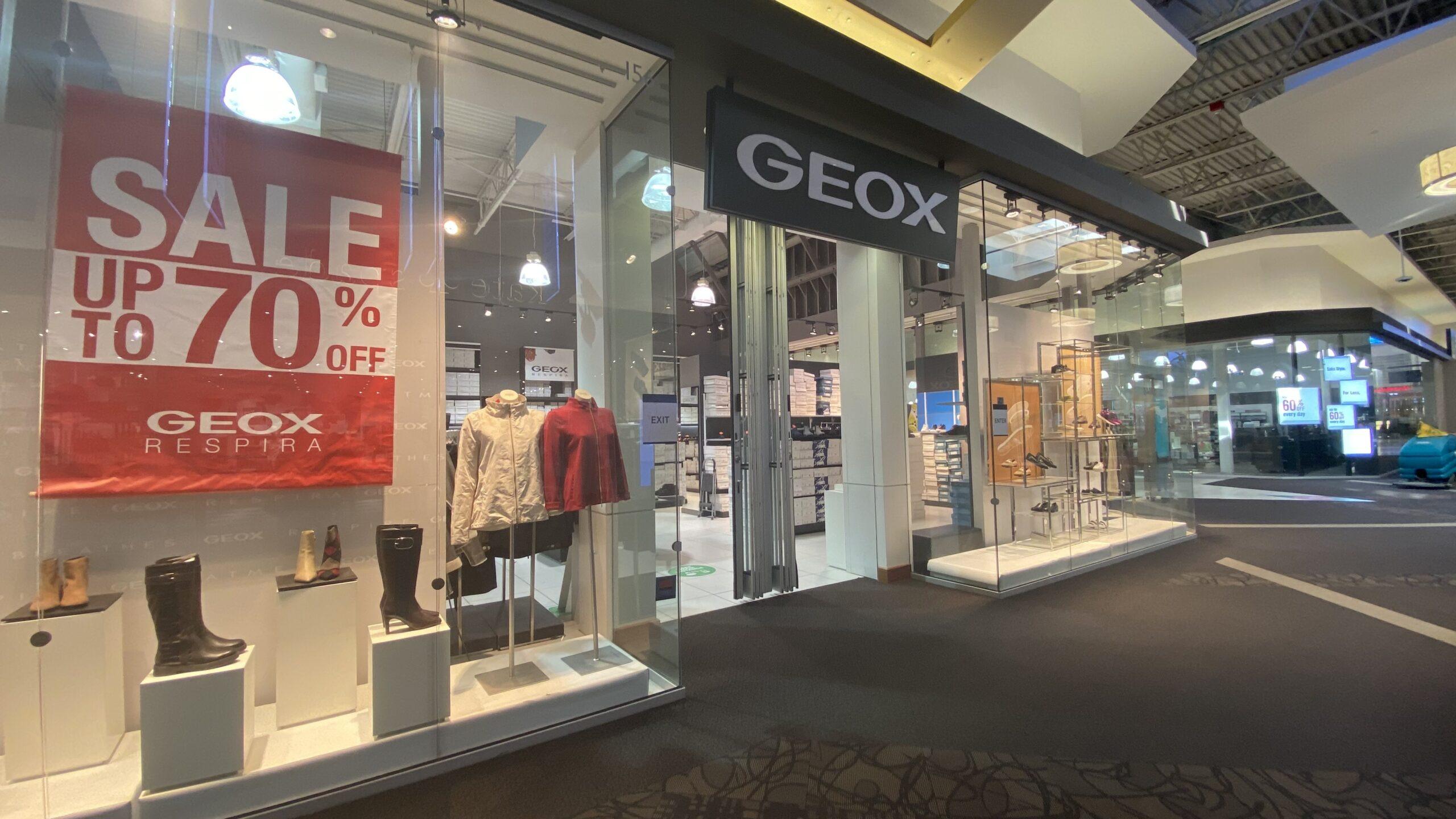 Geox at CrossIron Mills