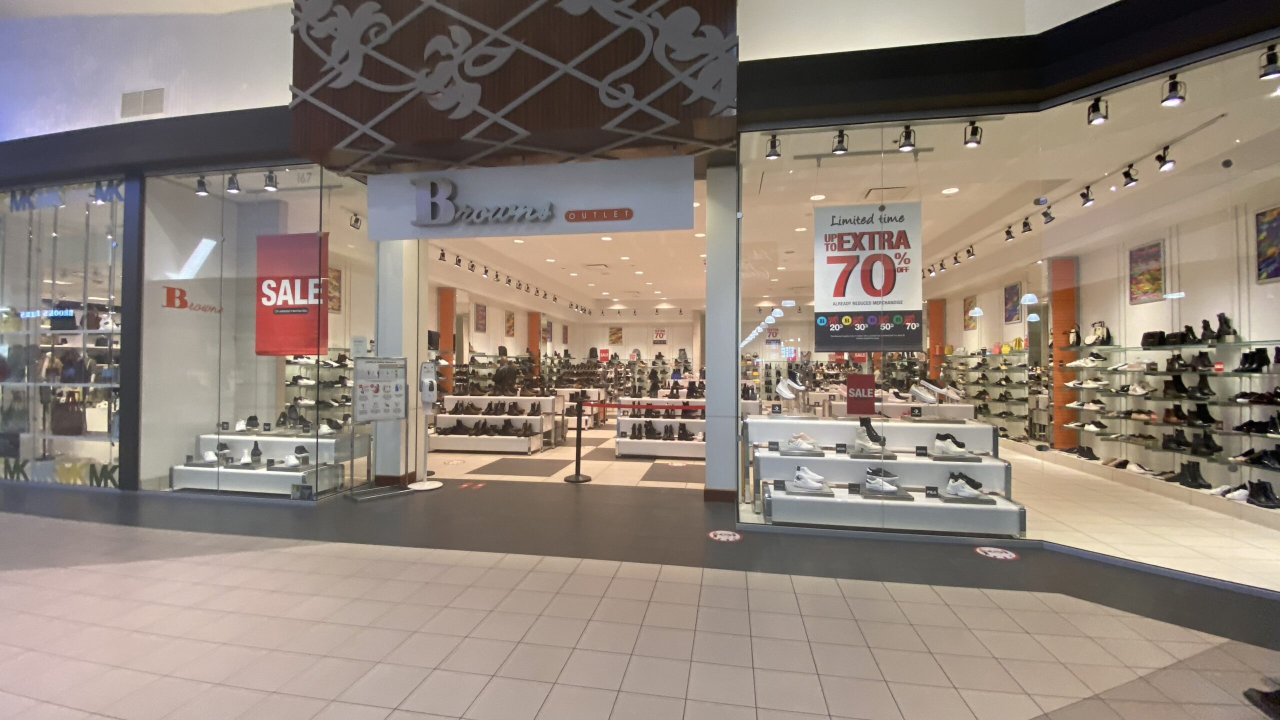 Browns Outlet at CrossIron Mills