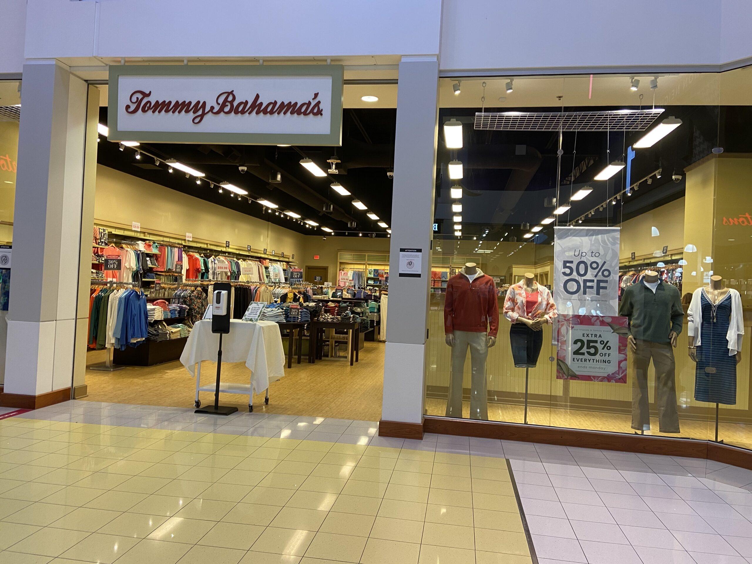 Tommy Bahamas at CrossIron Mills