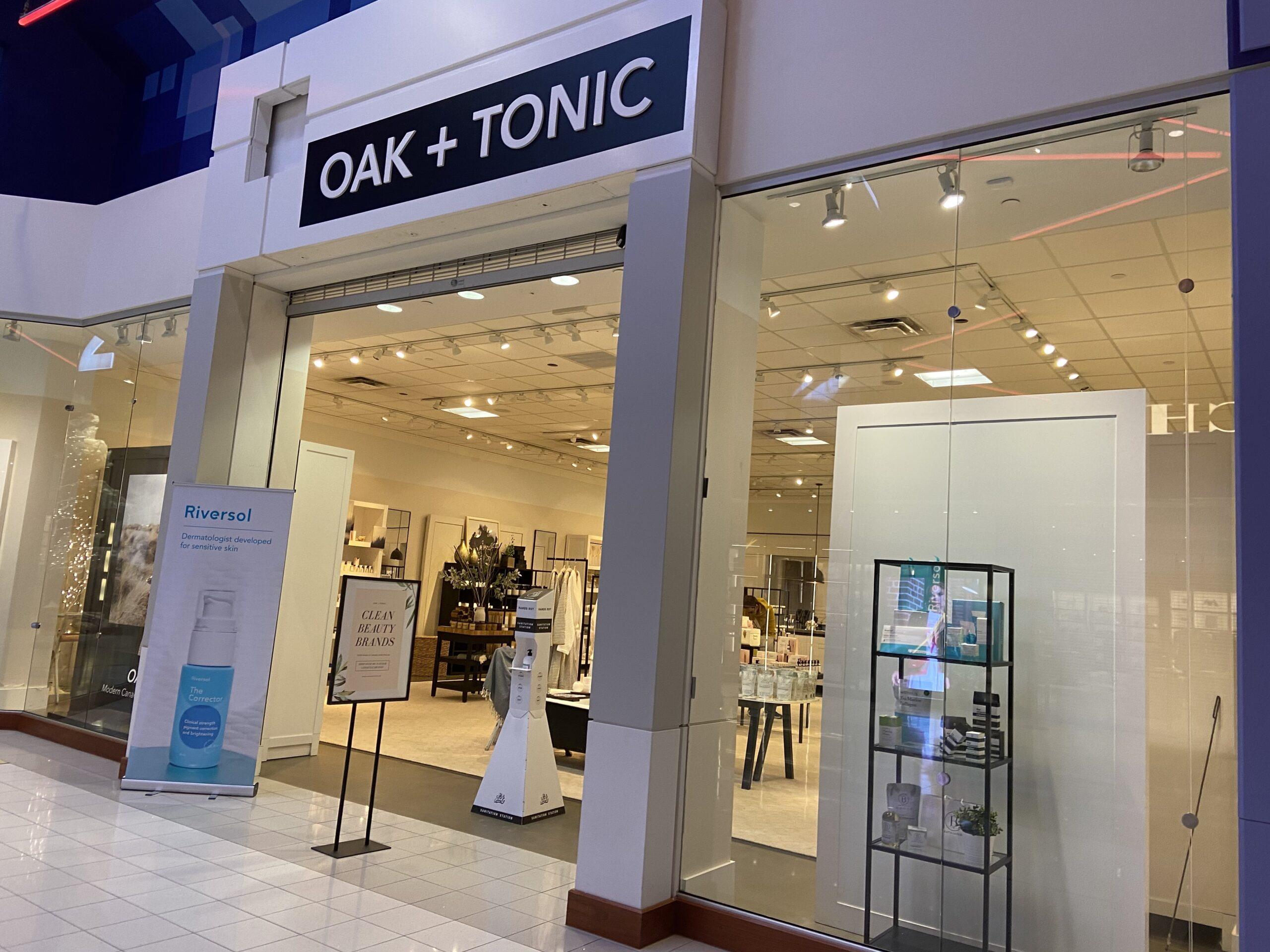 Oak + Tonic at CrossIron Mills