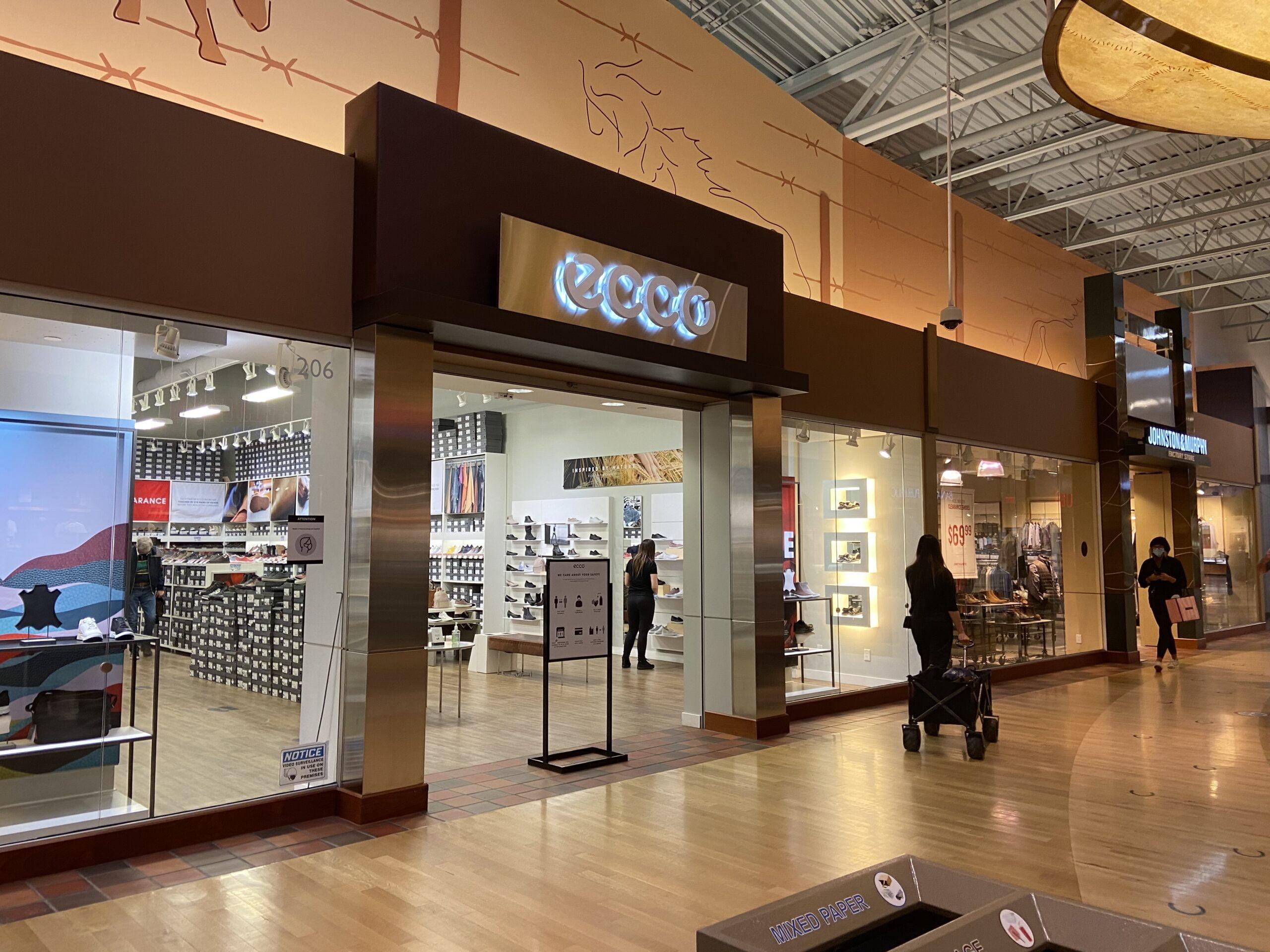 ECCO Shoes at CrossIron Mills