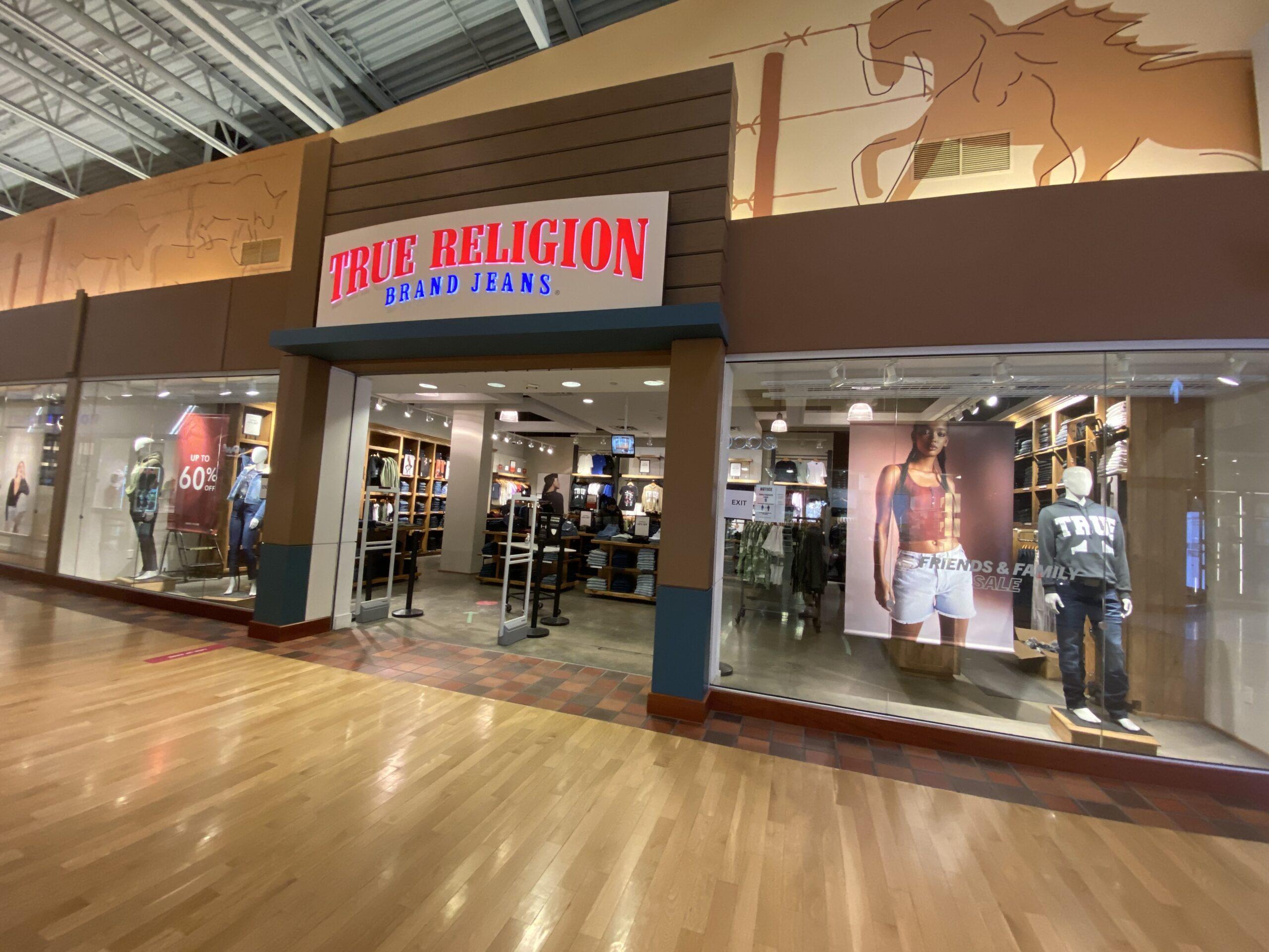 True Religion at CrossIron Mills