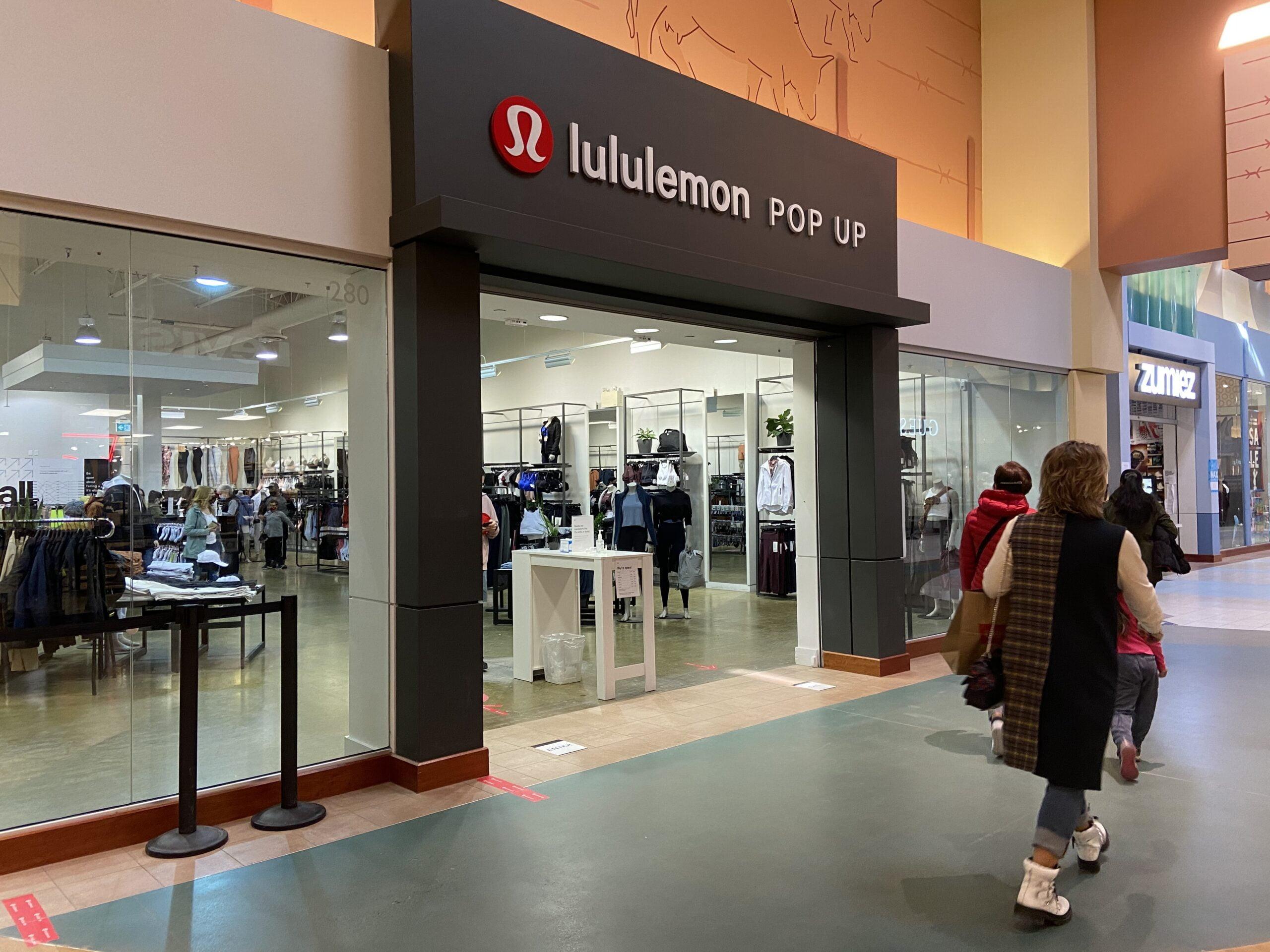 Lululemon Pop Up at CrossIron Mills