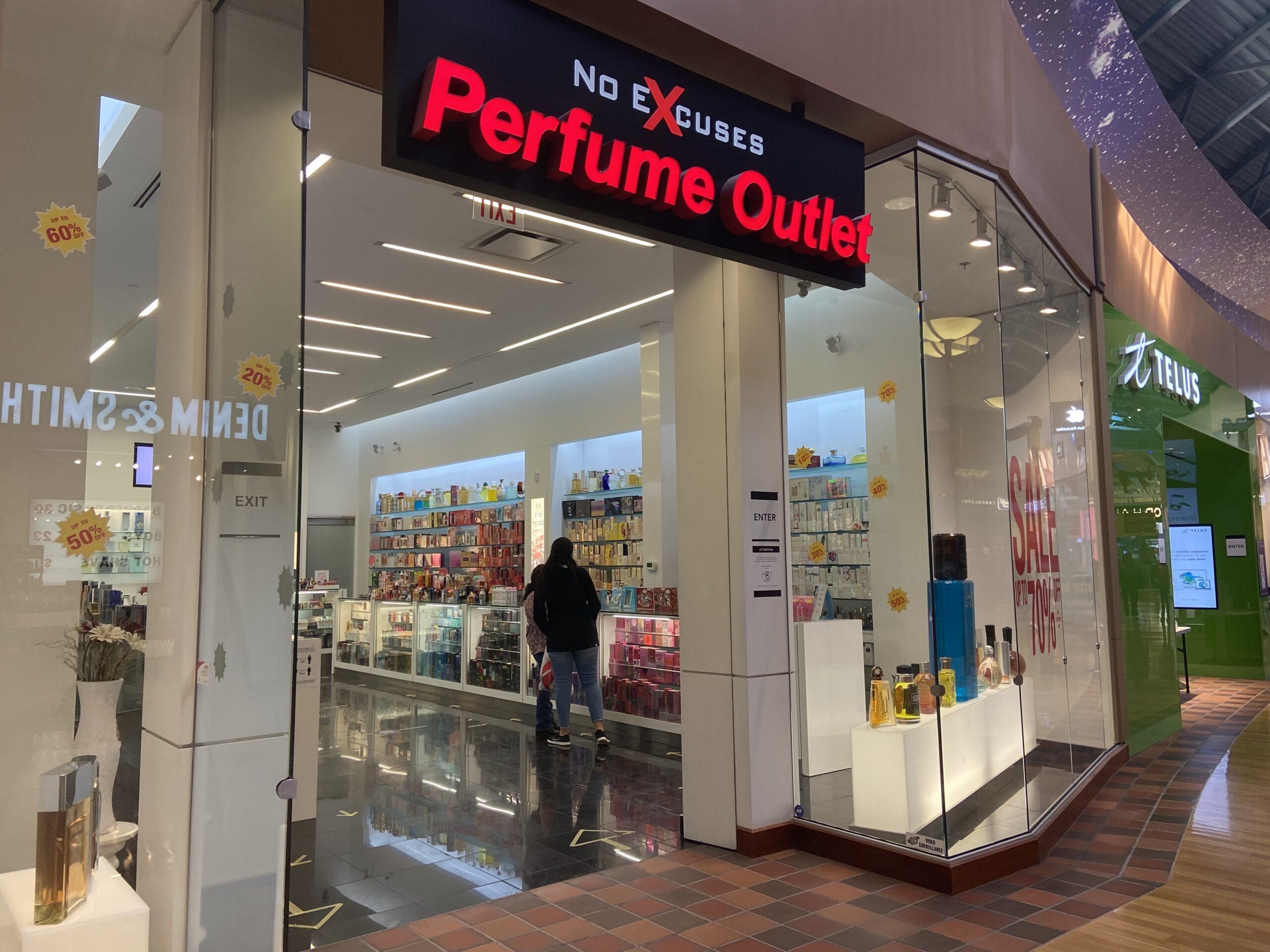 No Excuses Perfume at CrossIron Mills