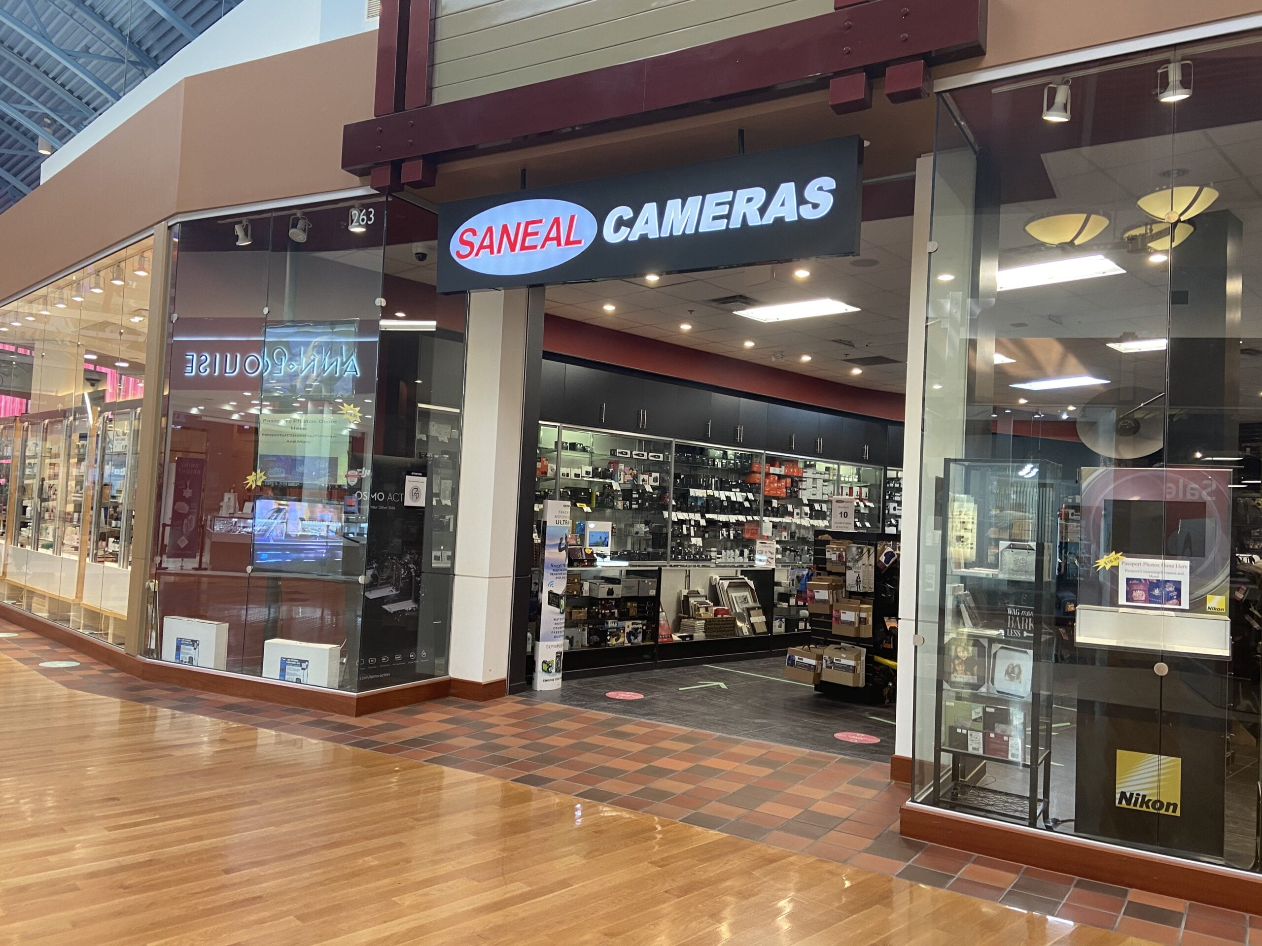 Saneal Cameras at CrossIron Mills