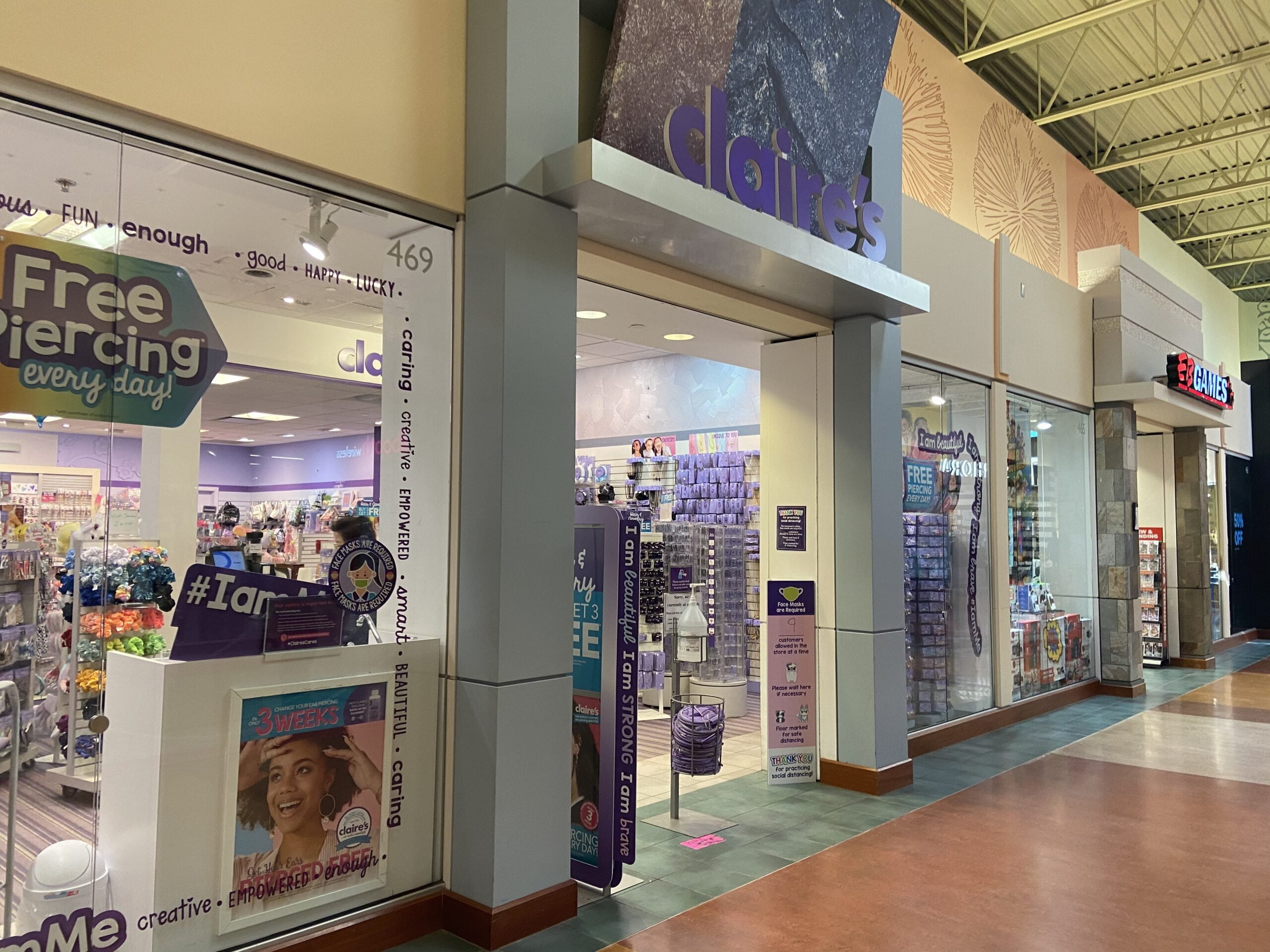 Claire's at CrossIron Mills