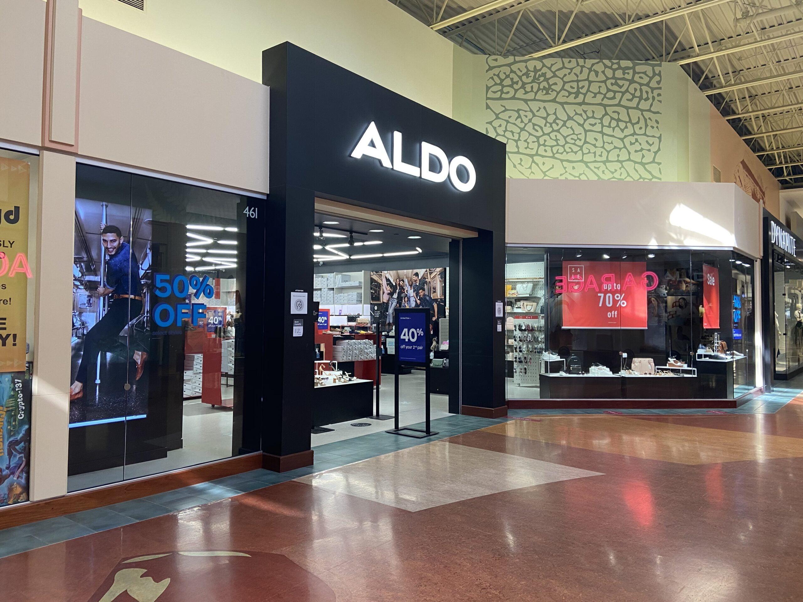Aldo at CrossIron Mills