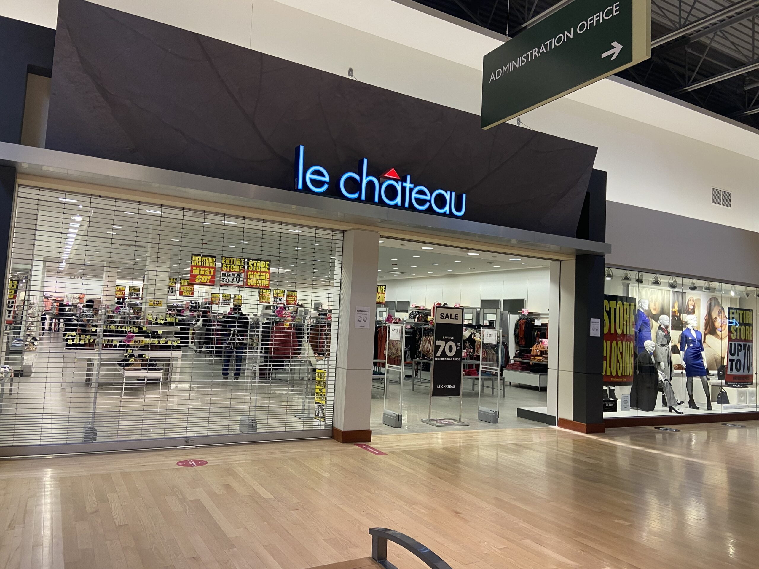 Le Chateau at CrossIron Mills