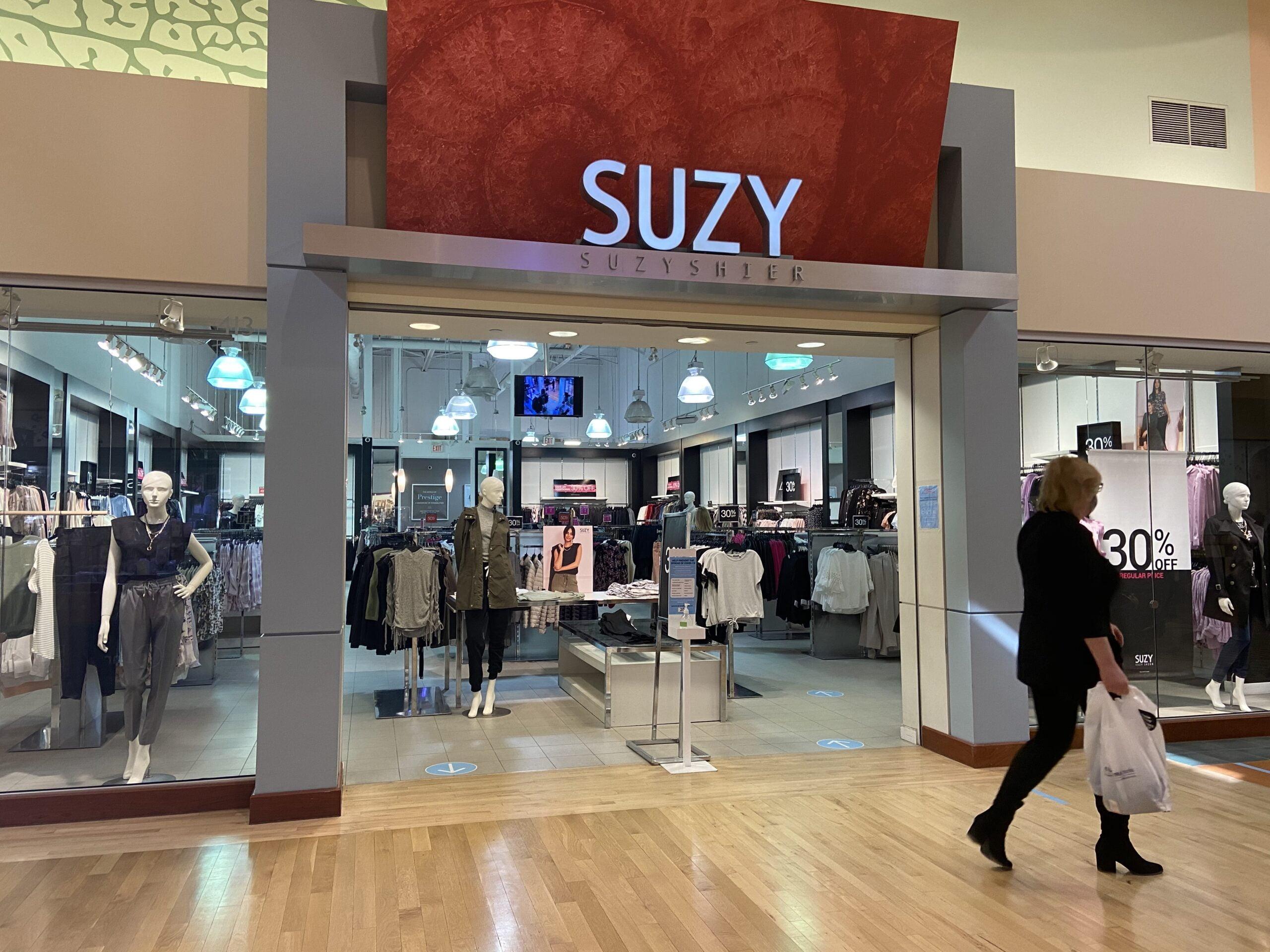 Suzy Shier at CrossIron Mills