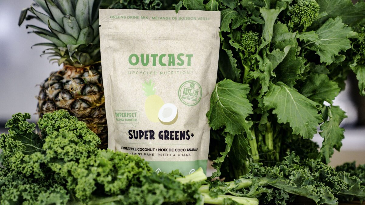 Outcast Foods 'Super Greens' product. Photo: Outcast Foods