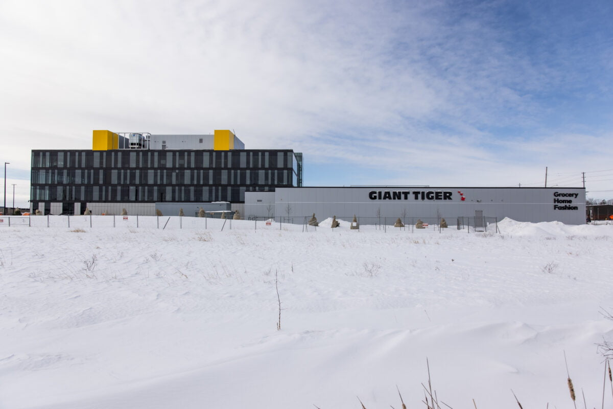 Exterior of new Giant Tiger store on Walkley Road in Ottawa. Photo: Giant Tiger