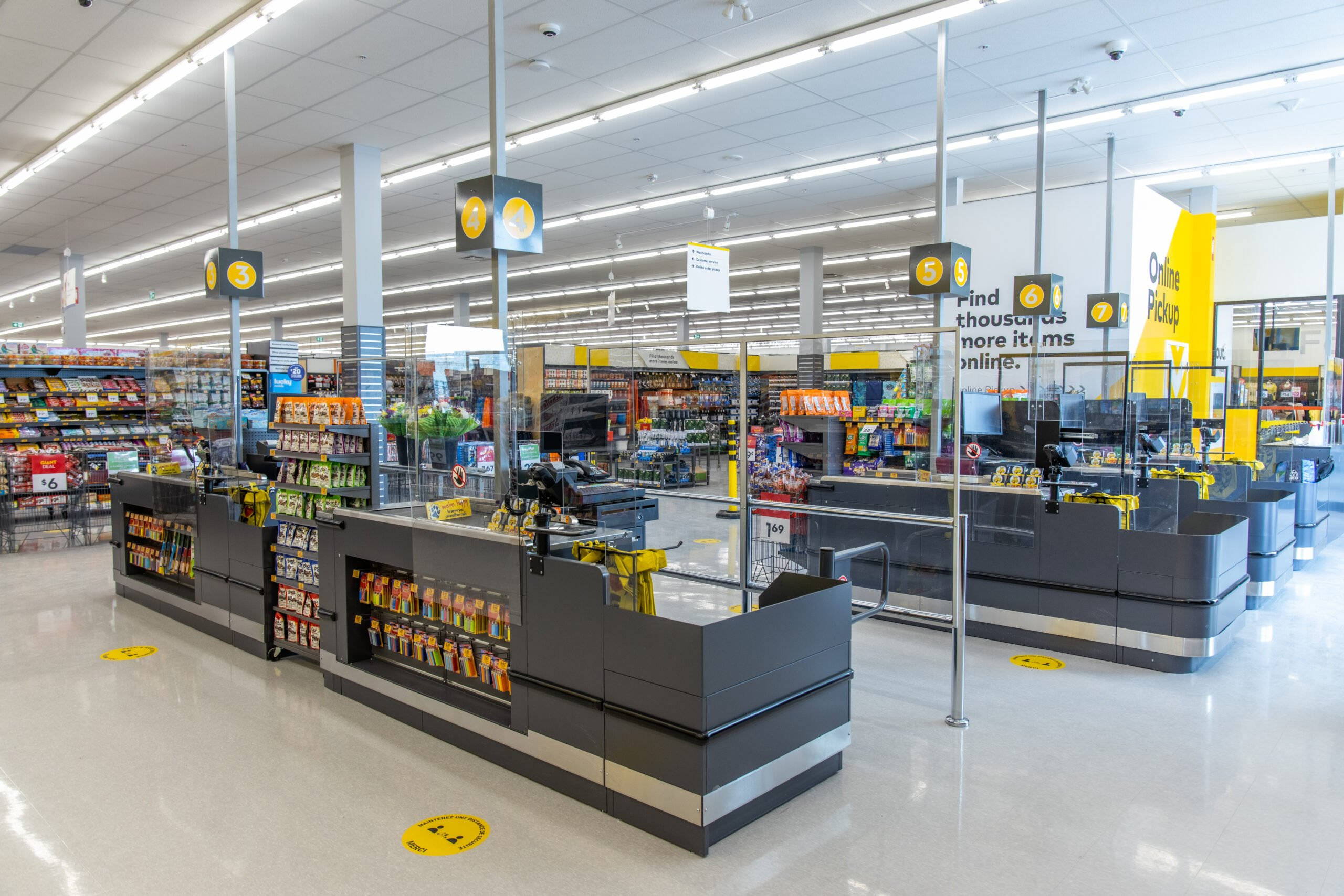 Interior of new Giant Tiger store on Walkley Road in Ottawa. Photo: Giant Tiger