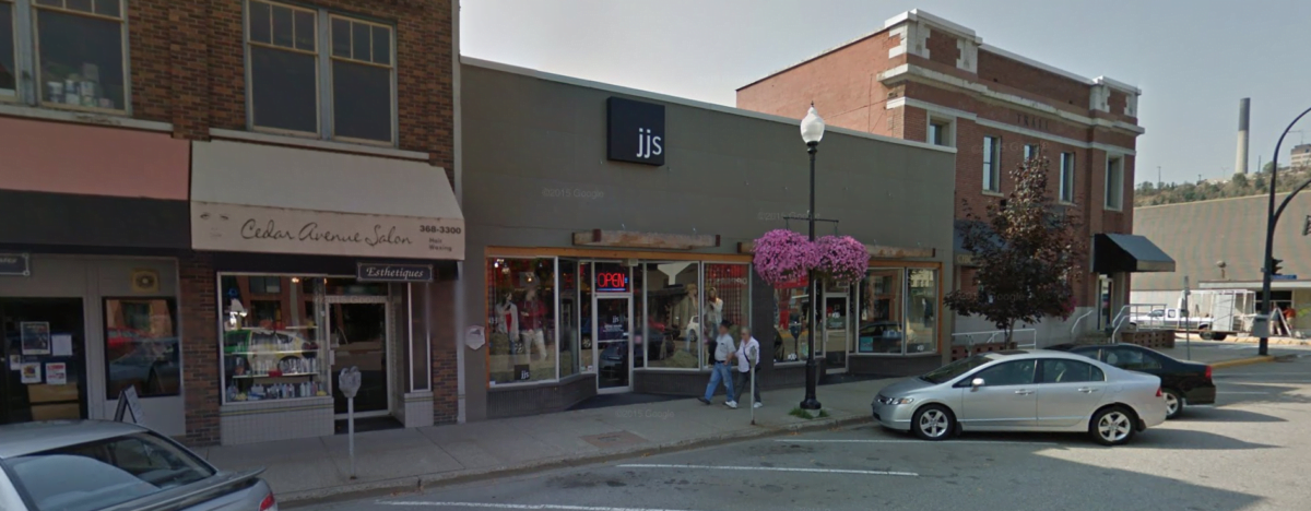 Exterior of JJ's Fashion store. Photo: Google Images