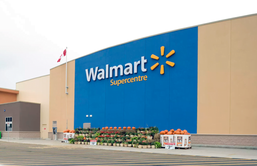 Exterior of Scarborough Walmart Supercentre. Photo: Walmart