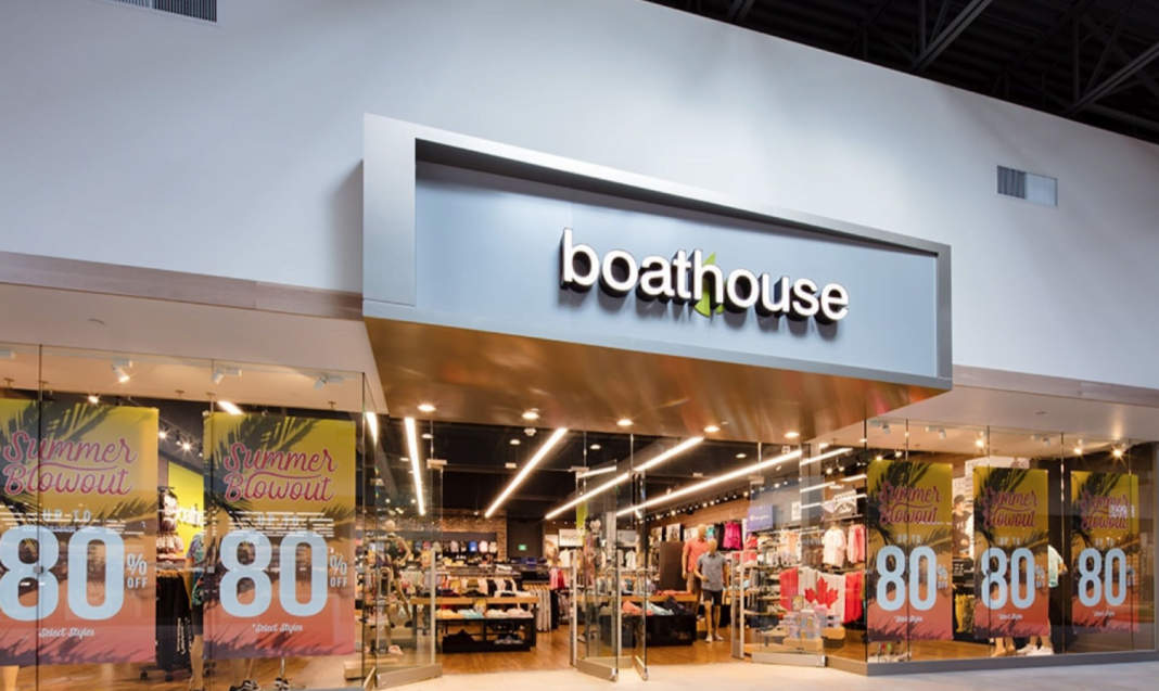 Exterior of Boathouse store. Photo: GL Smith