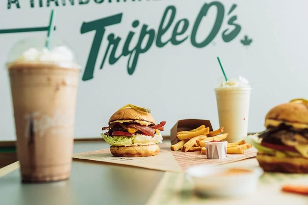 Example of Triple O's menu items. Photo: Triple O's