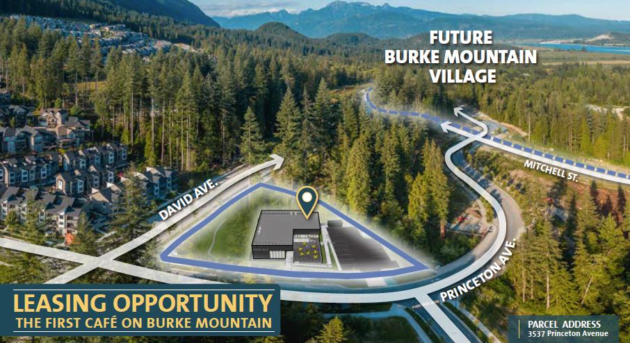 City of Coquitlam Seeks Café Operator for Unique Burke Mountain Retail Space
