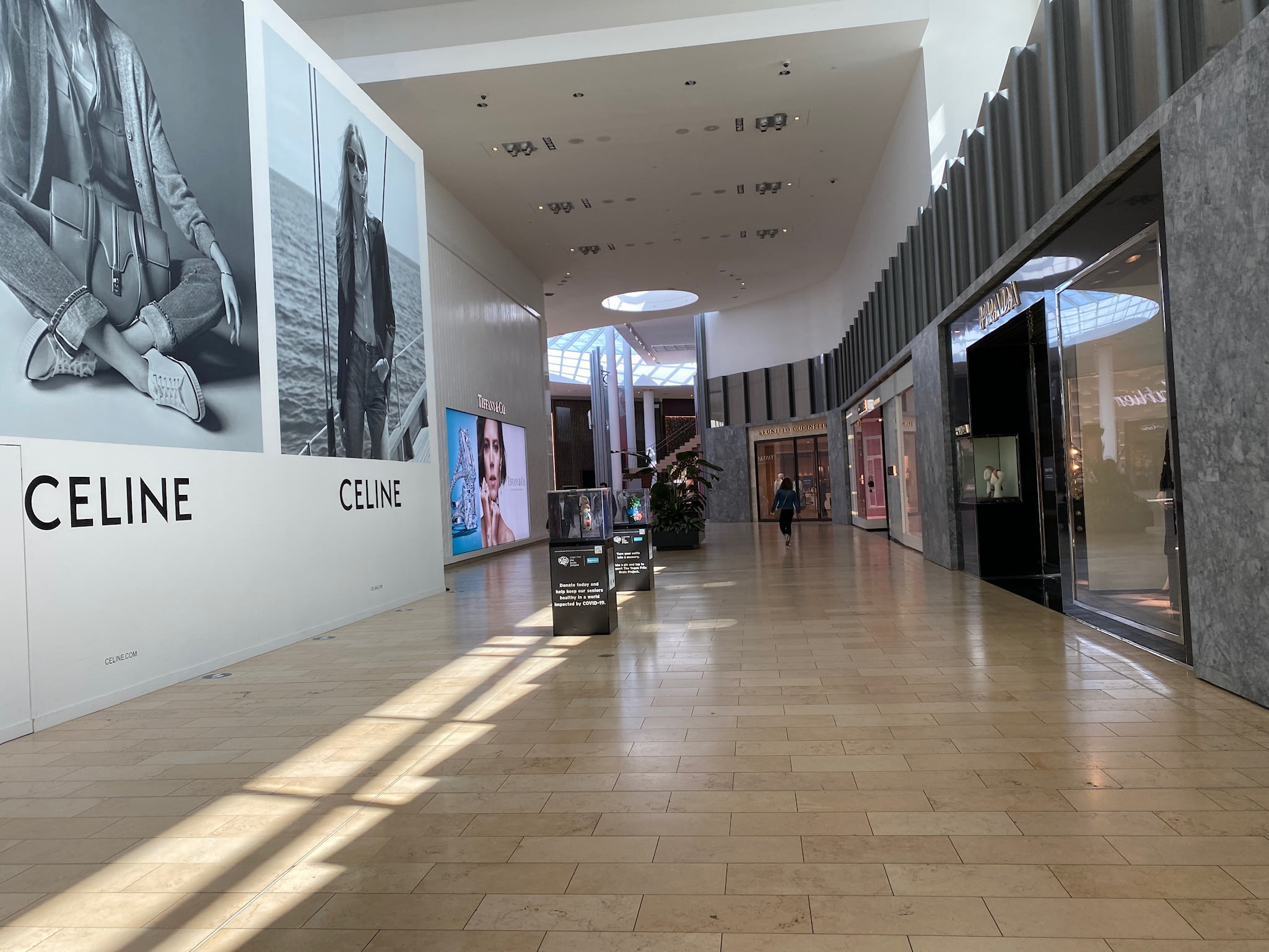 Celine Construction and Prada at Yorkdale