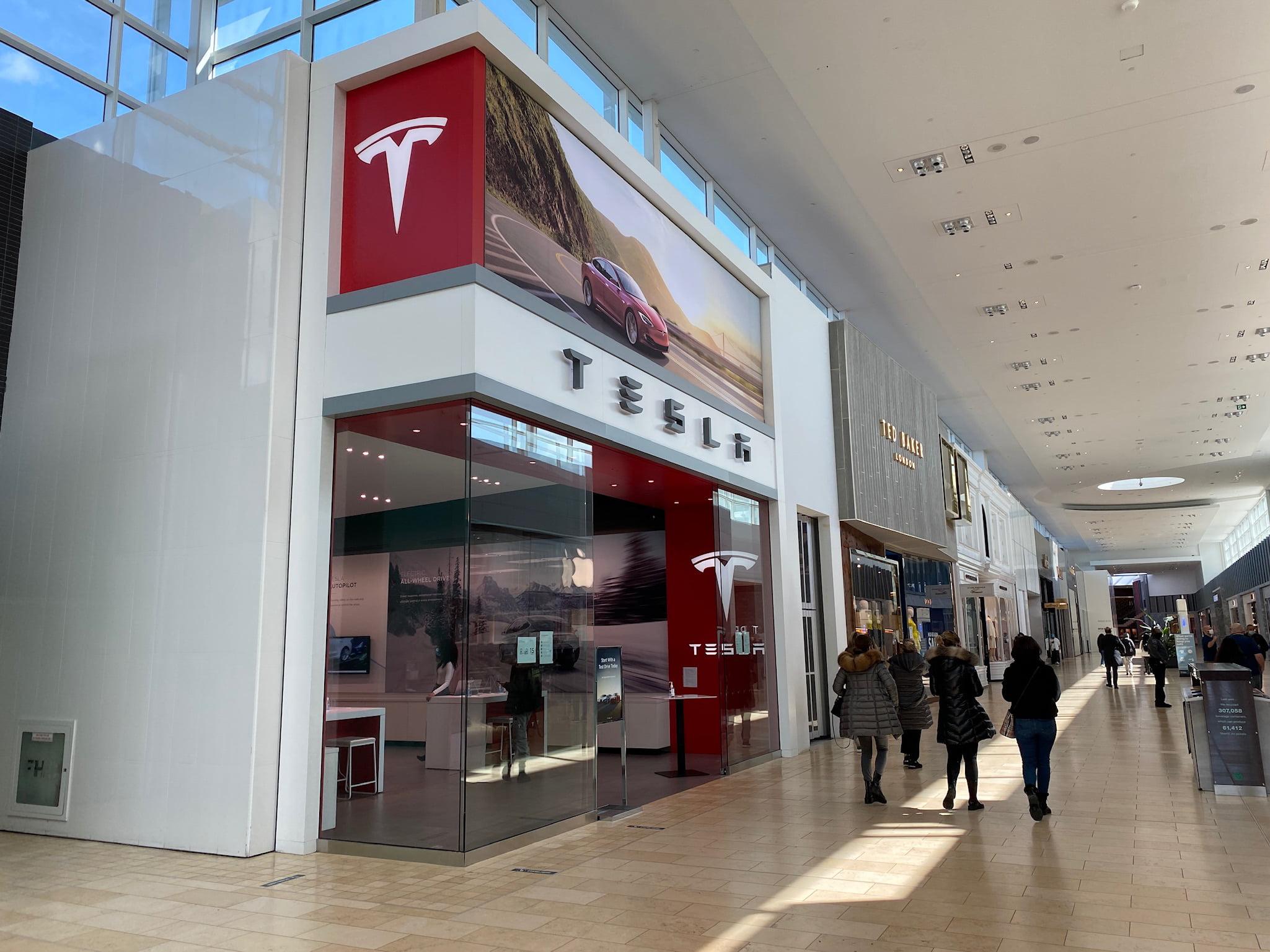 Tesla at Yorkdale