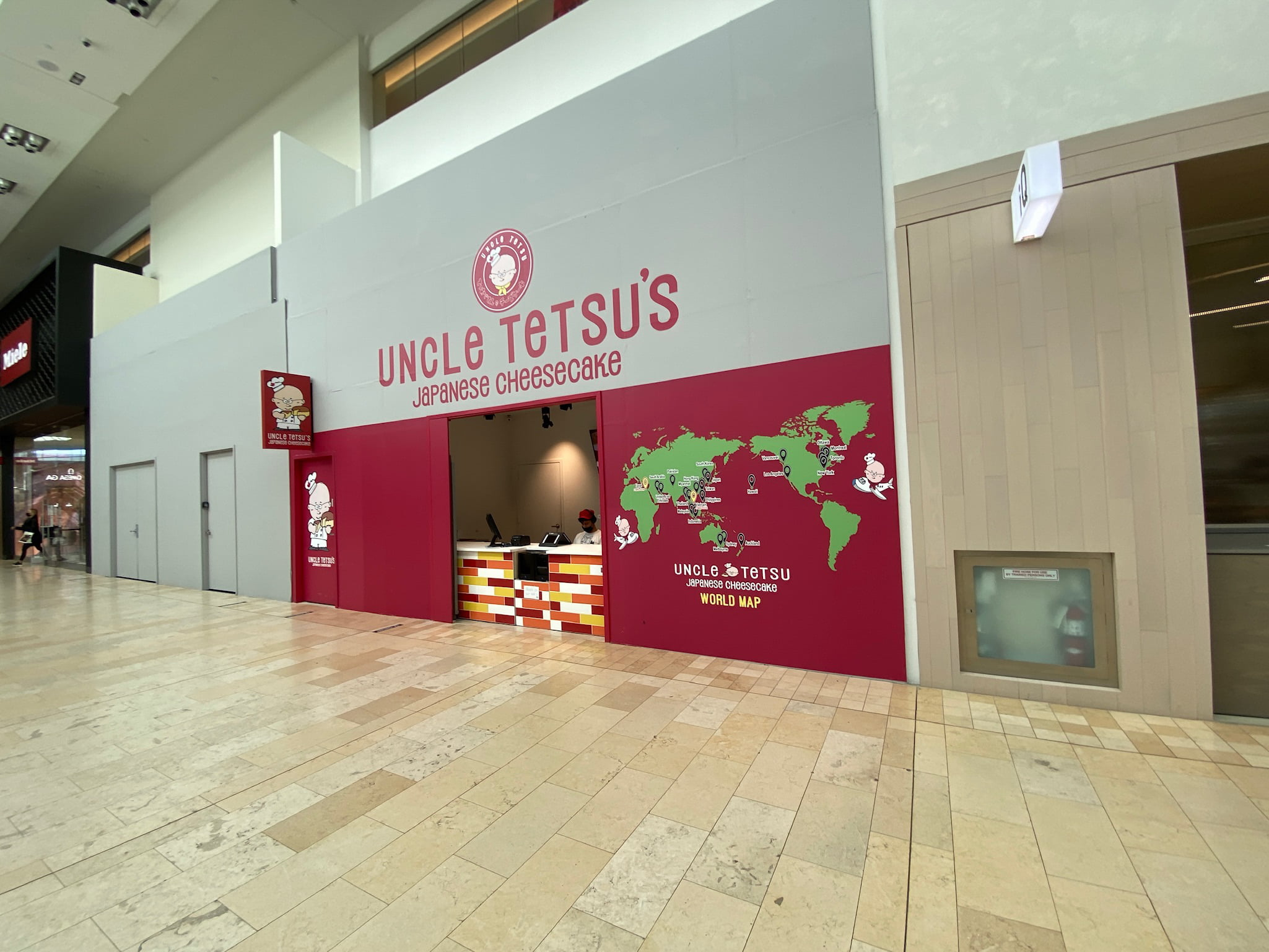 Uncle Tetsu at Yorkdale