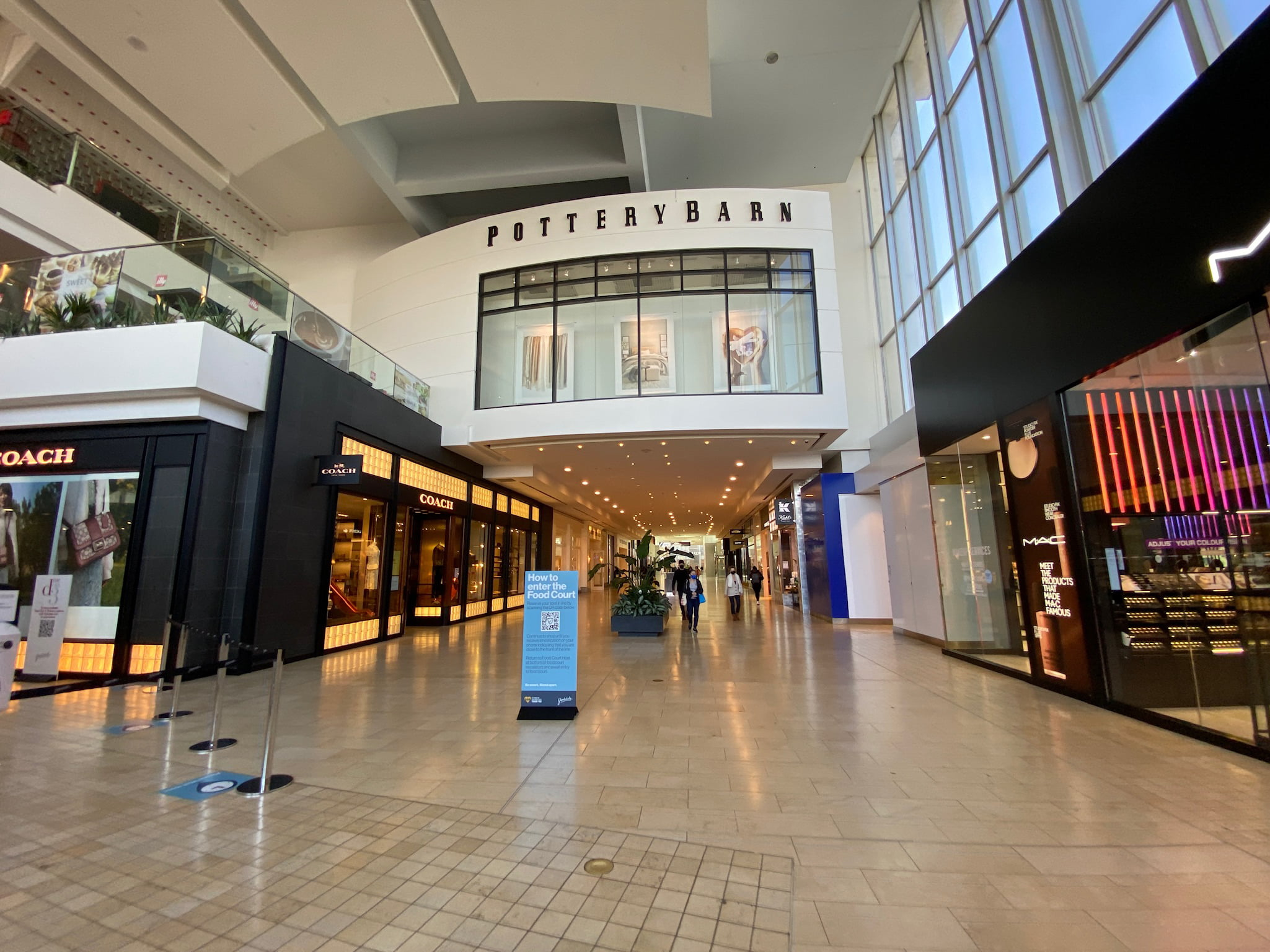 Pottery Barn and Coach at Yorkdale