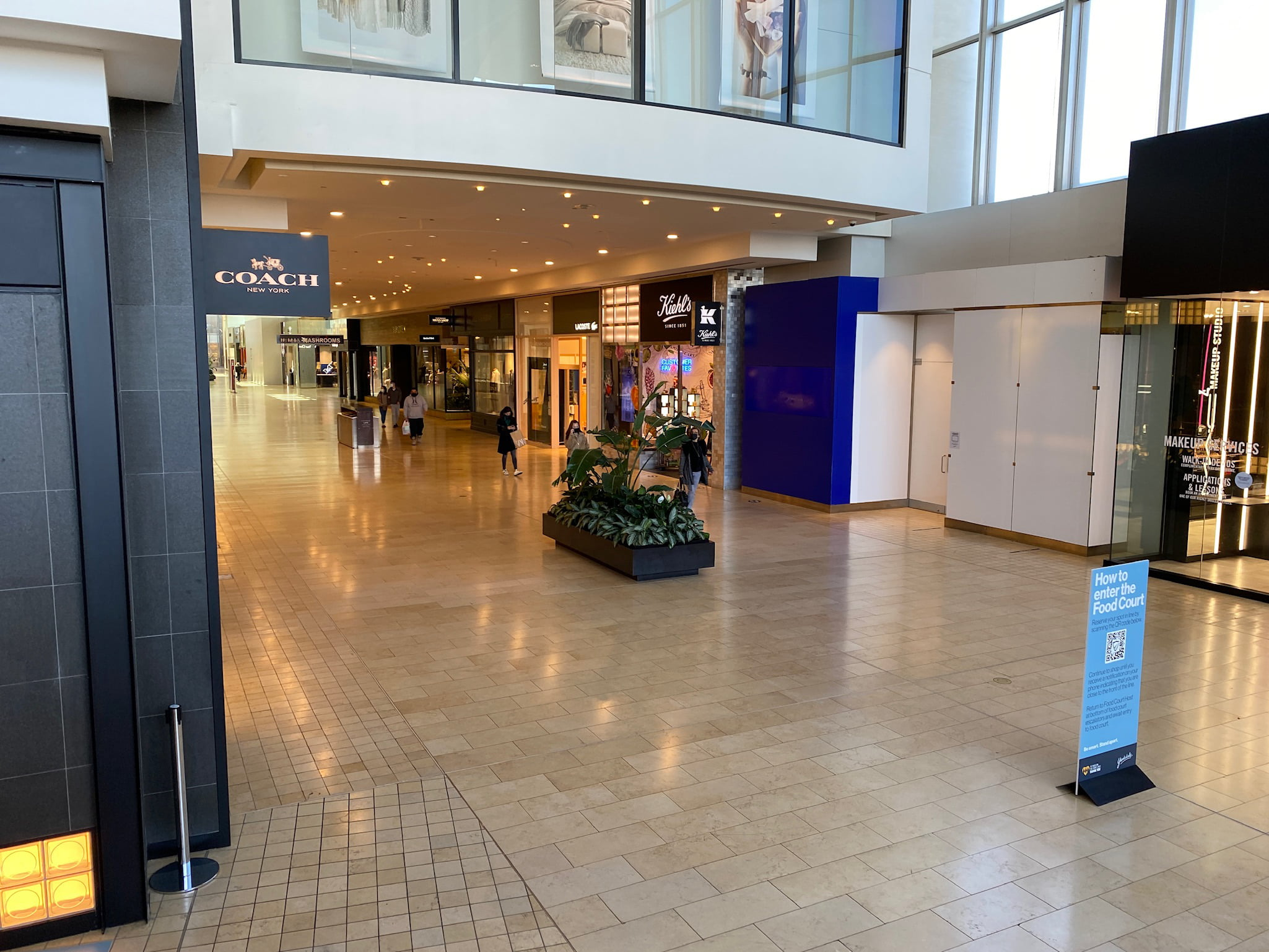 Kiehls, Coach, Former Bose location at Yorkdale