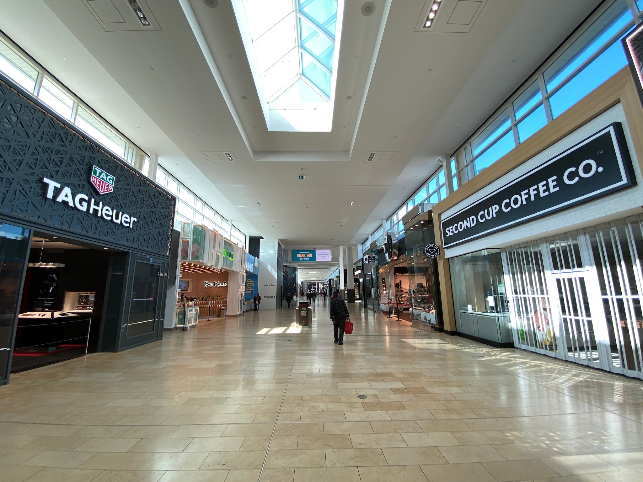 Tag Heuer and Second Cup Coffee at Yorkdale